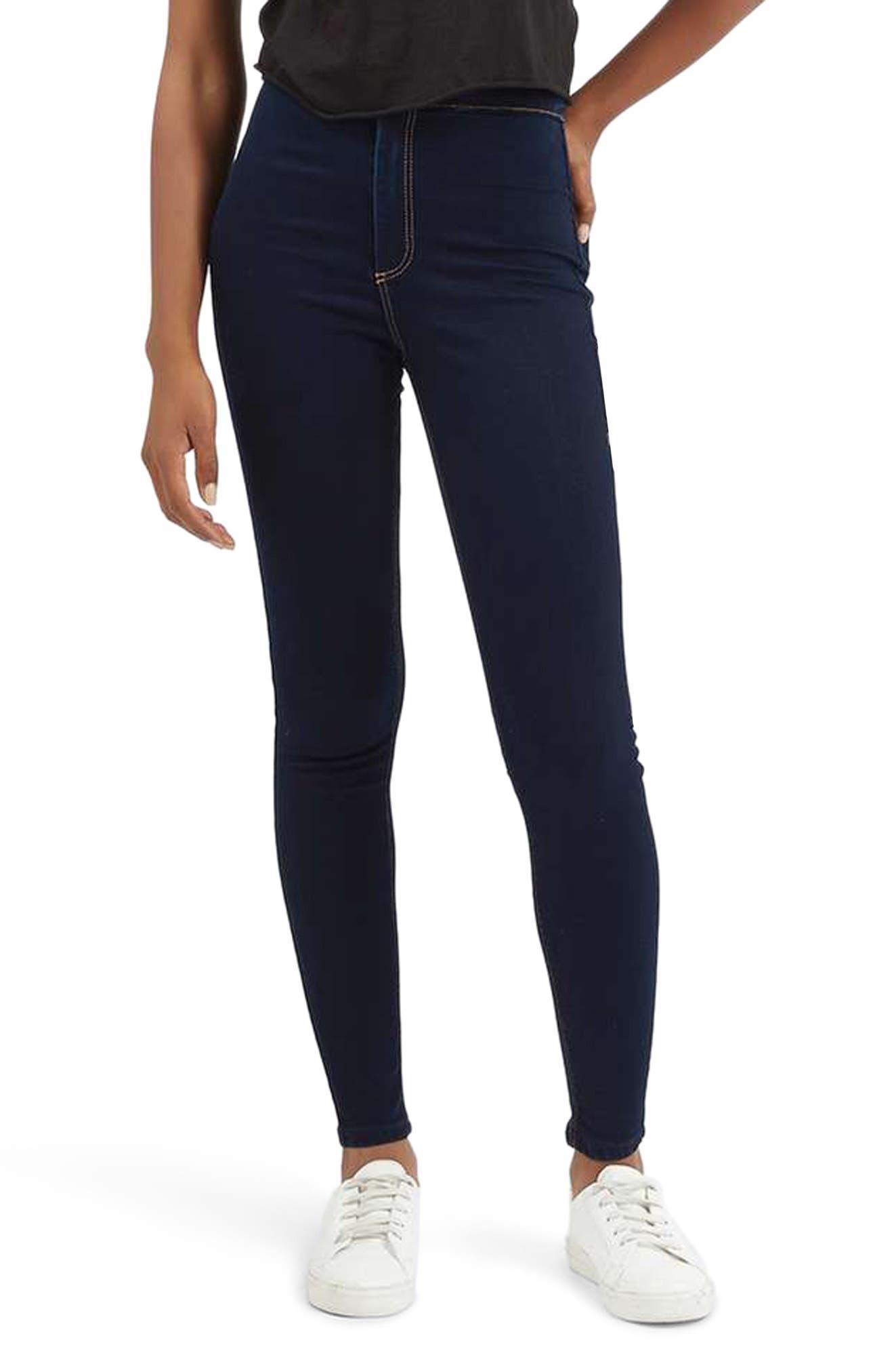 TOPSHOP Joni High Waist Skinny Jeans, Main, color, 400