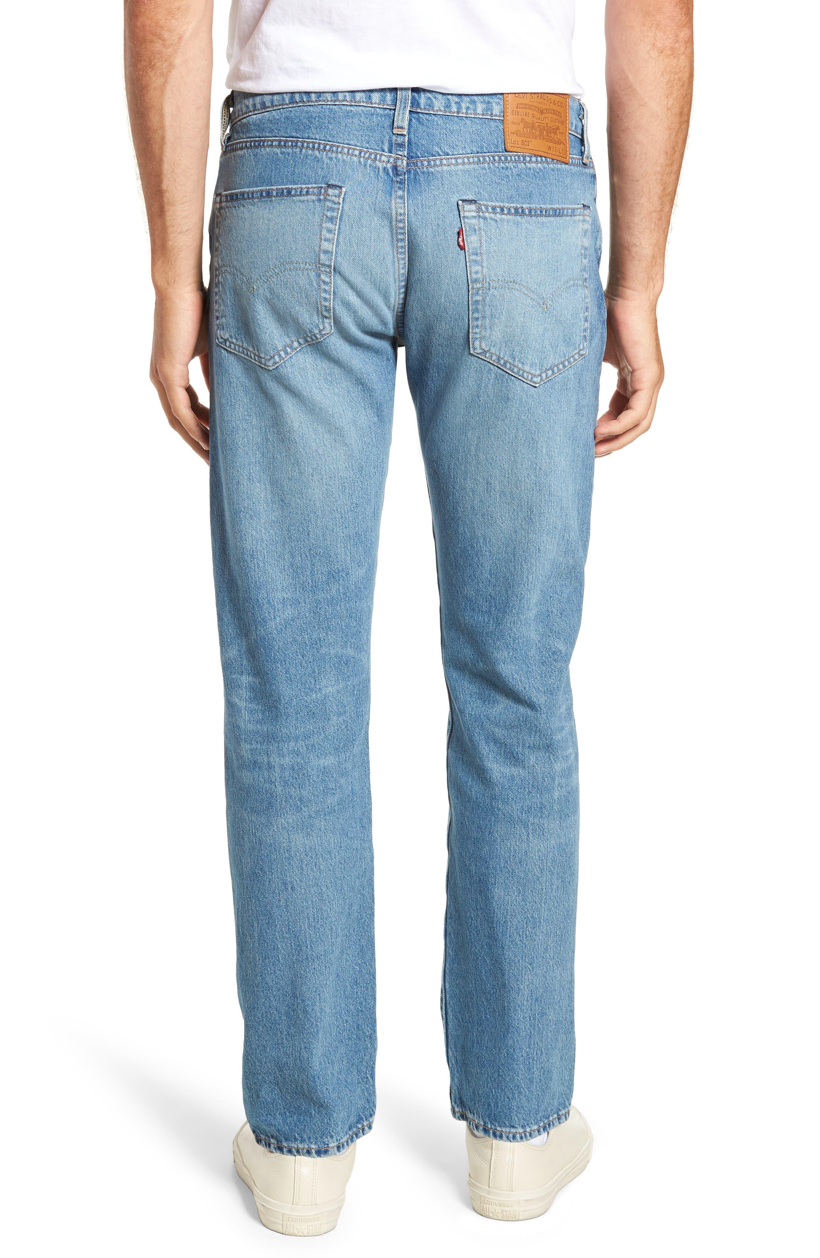 502<sup>™</sup> Slim Fit Jeans,                             Alternate thumbnail 2, color,                             GRANDPAS WARP