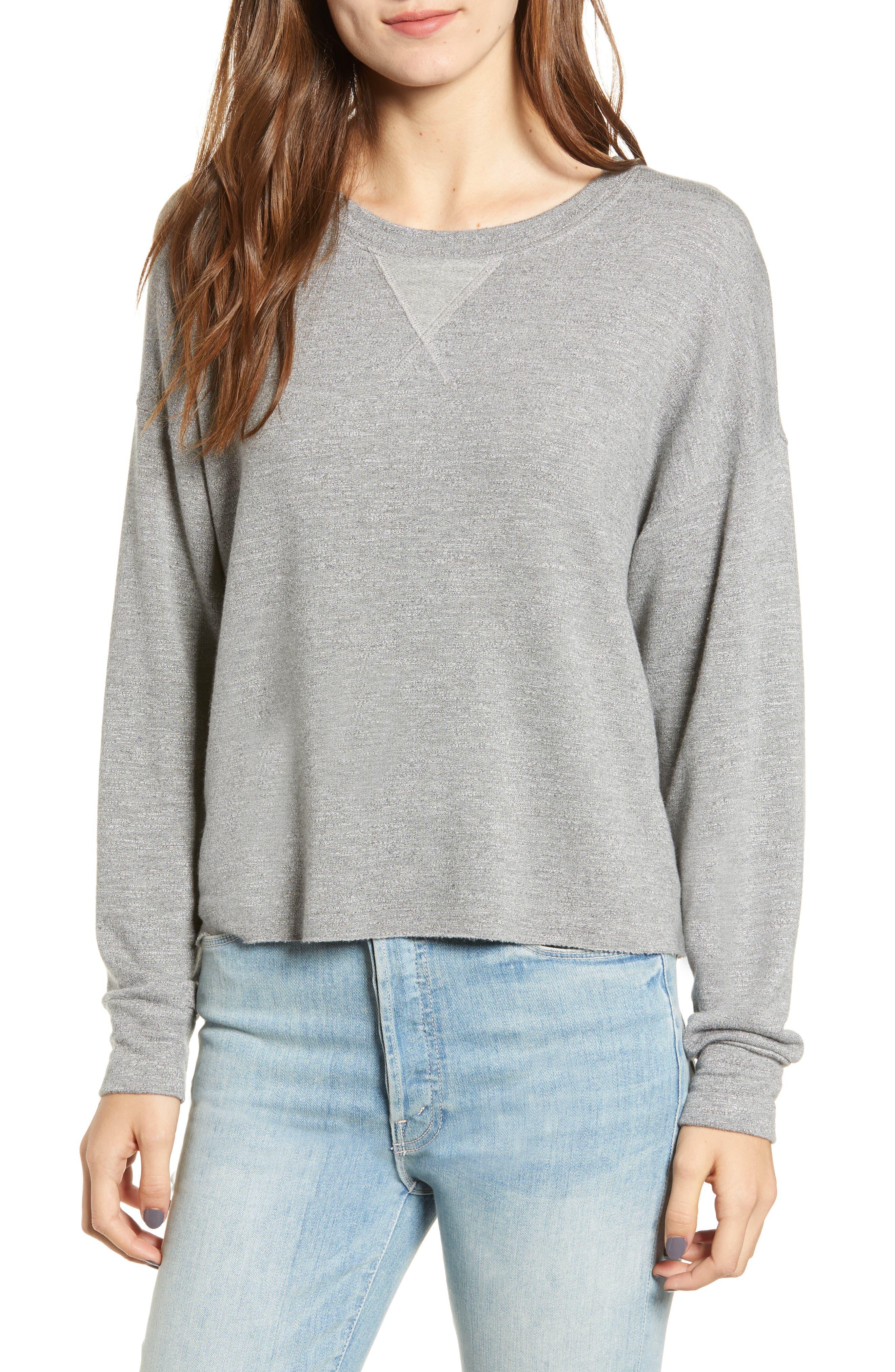 Splendid Active Sweatshirt, Grey
