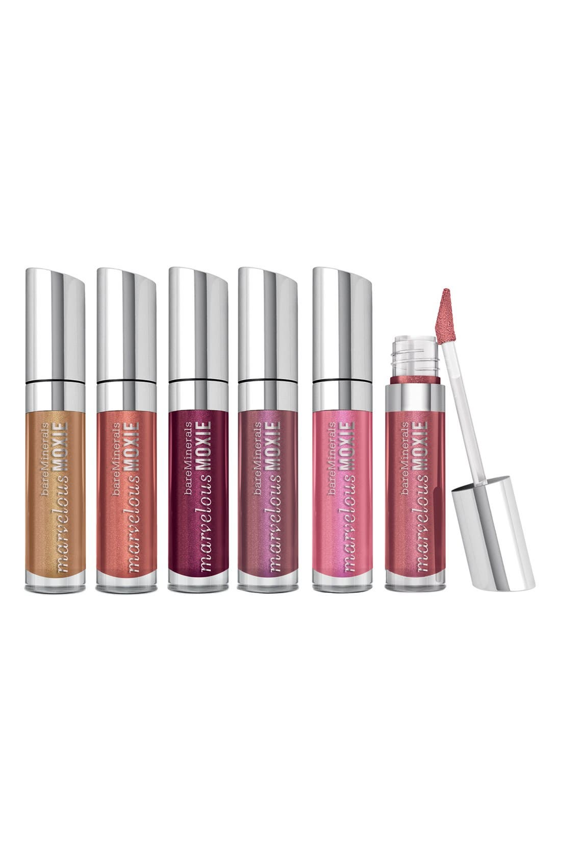 'Marvelous Moxie<sup>™</sup> - Show Me the Shimmer' Lipgloss Set, Main, color, 000
