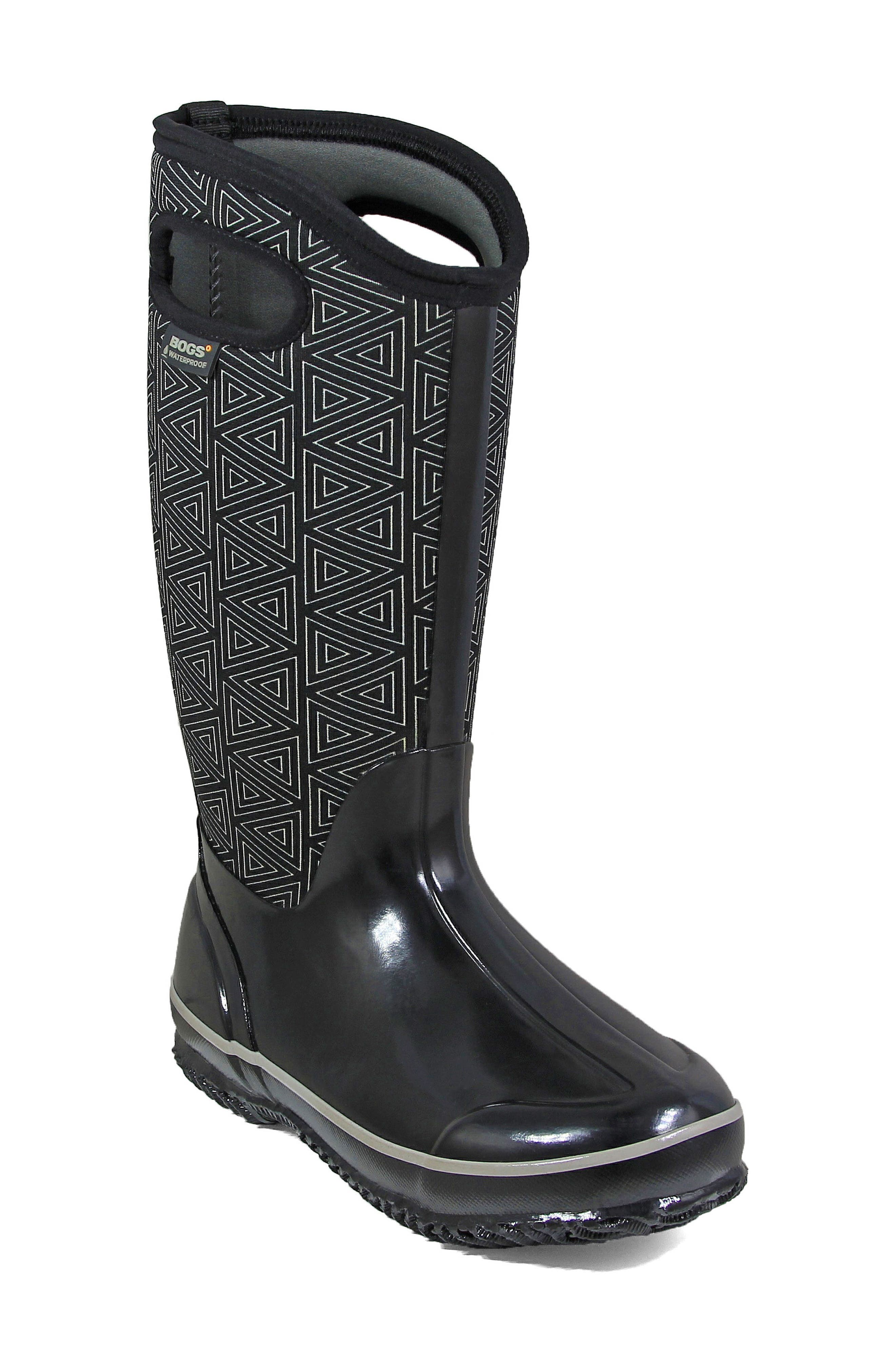 Classic Triangles Waterproof Subzero Insulated Boot,                             Main thumbnail 1, color,