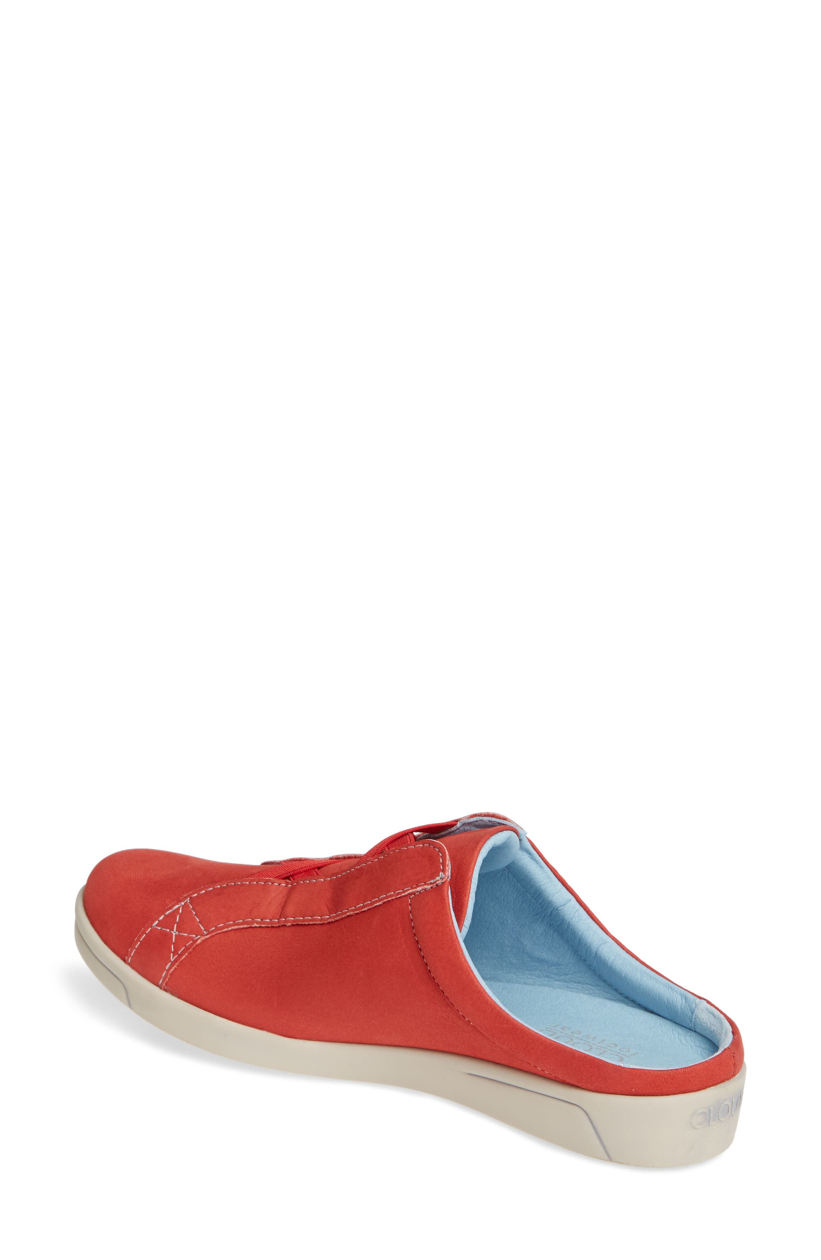 Arizona Sneaker,                             Alternate thumbnail 2, color,                             RED LEATHER