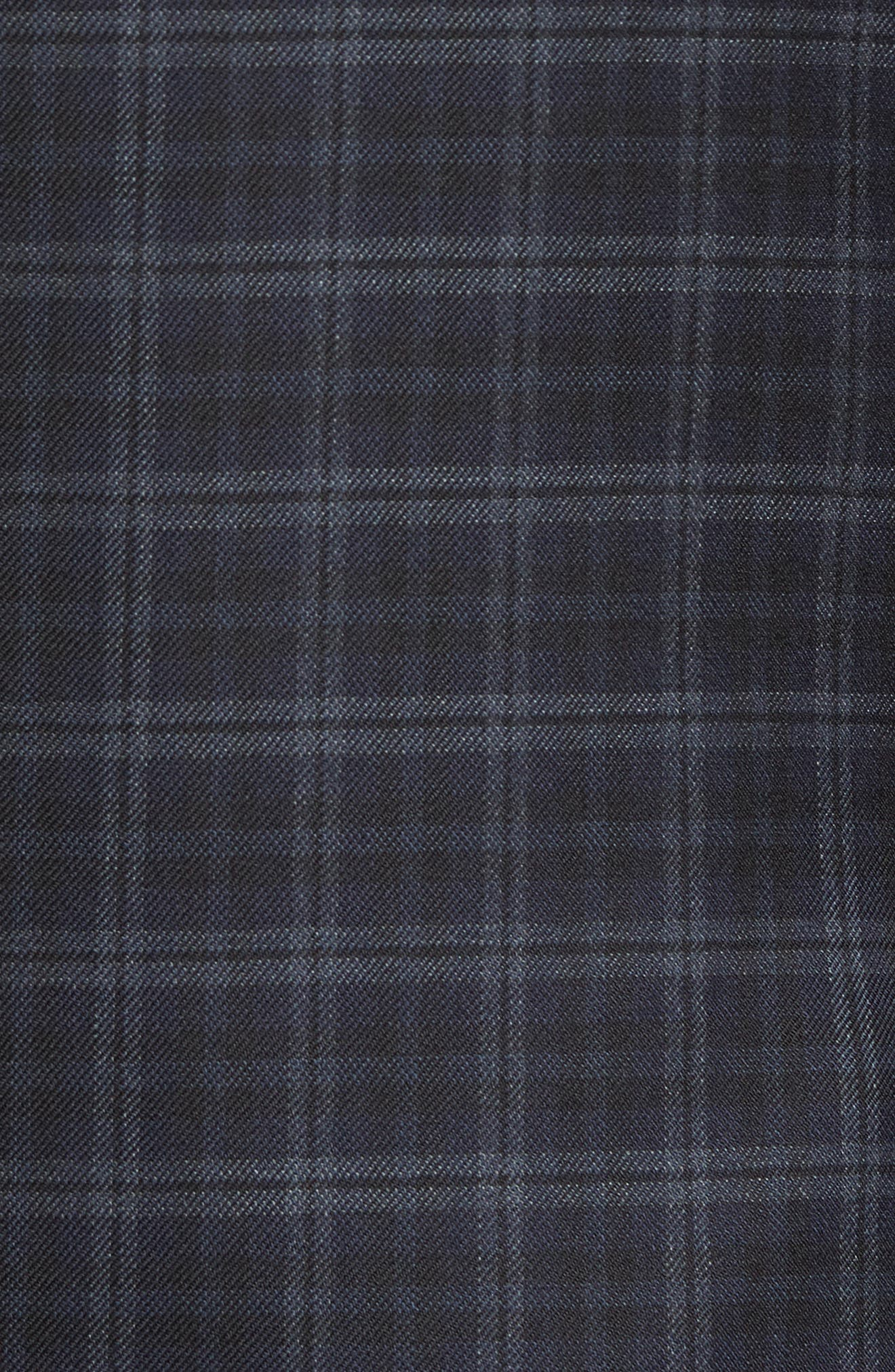 Classic Fit Plaid Wool Sport Coat,                             Alternate thumbnail 5, color,                             422