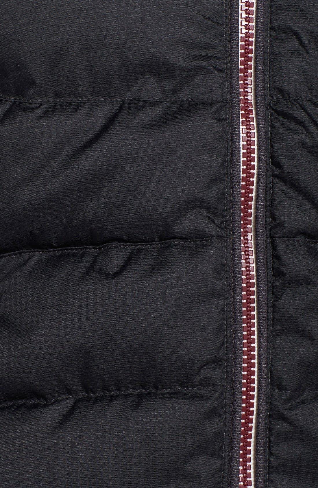 'Alta' Hooded Downglow<sup>™</sup> Quilted Jacket,                             Alternate thumbnail 3, color,                             001