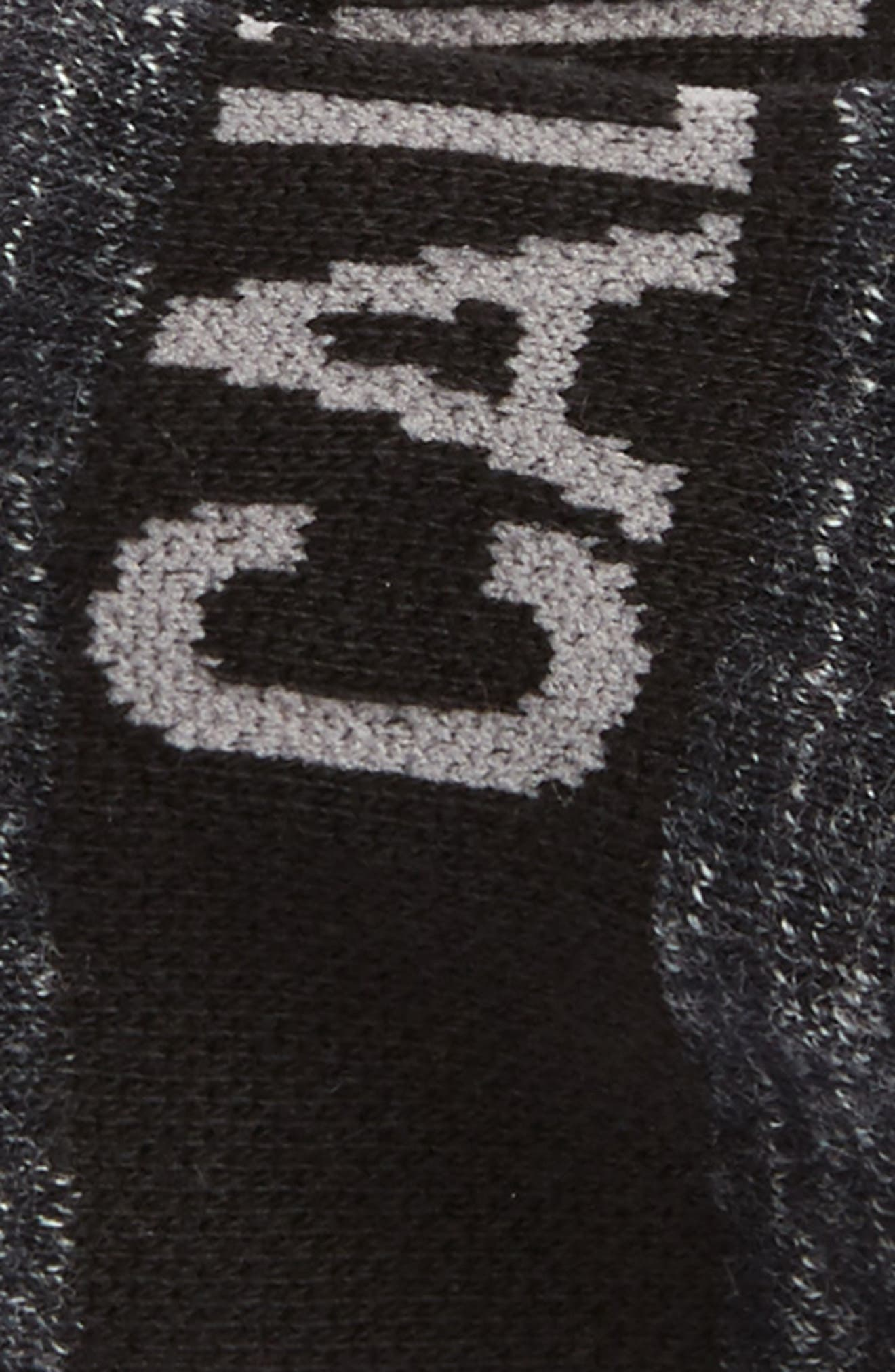Big Logo No-Show Socks,                             Alternate thumbnail 2, color,                             002