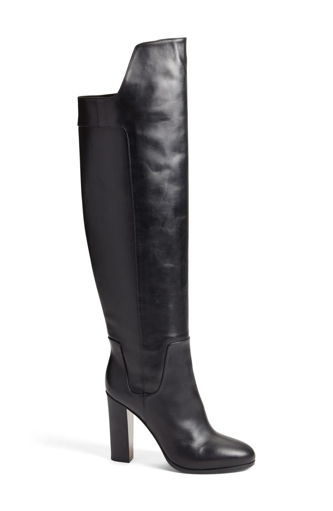 'Dempsey' Over the Knee Boot,                             Alternate thumbnail 4, color,                             003