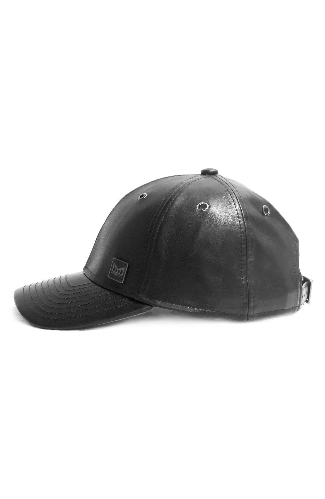 MELIN,                             'The Voyage' Baseball Cap,                             Alternate thumbnail 6, color,                             BLACK/ BLACK