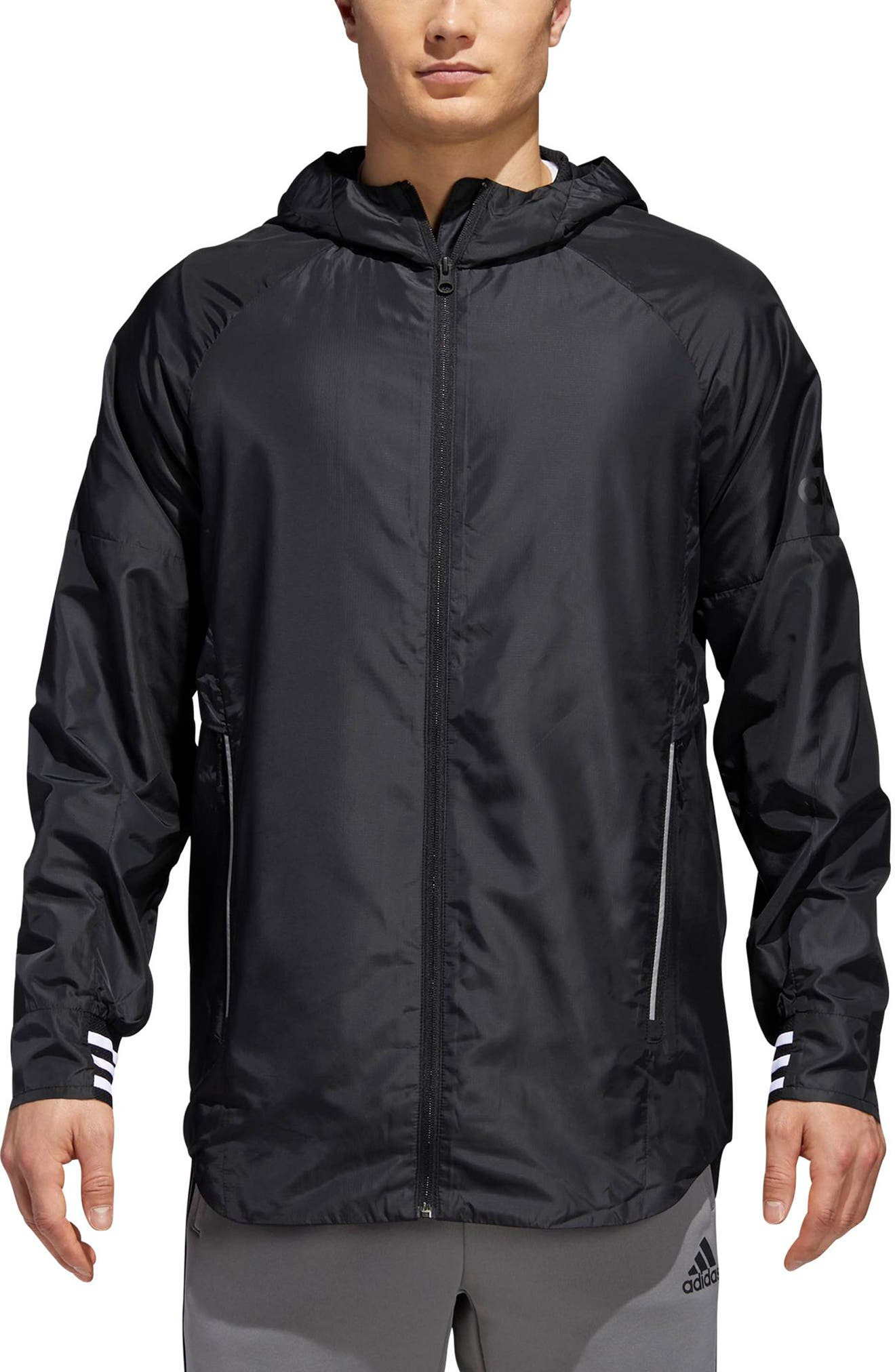 ID Wovenshell Jacket,                         Main,                         color, 001