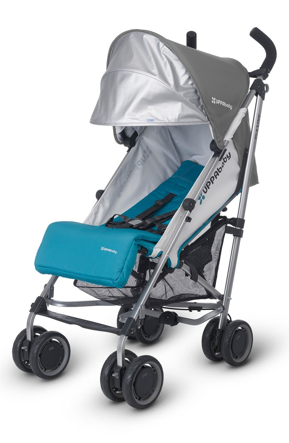 2015 G-LUXE - Aluminum Frame Reclining Umbrella Stroller,                             Alternate thumbnail 9, color,