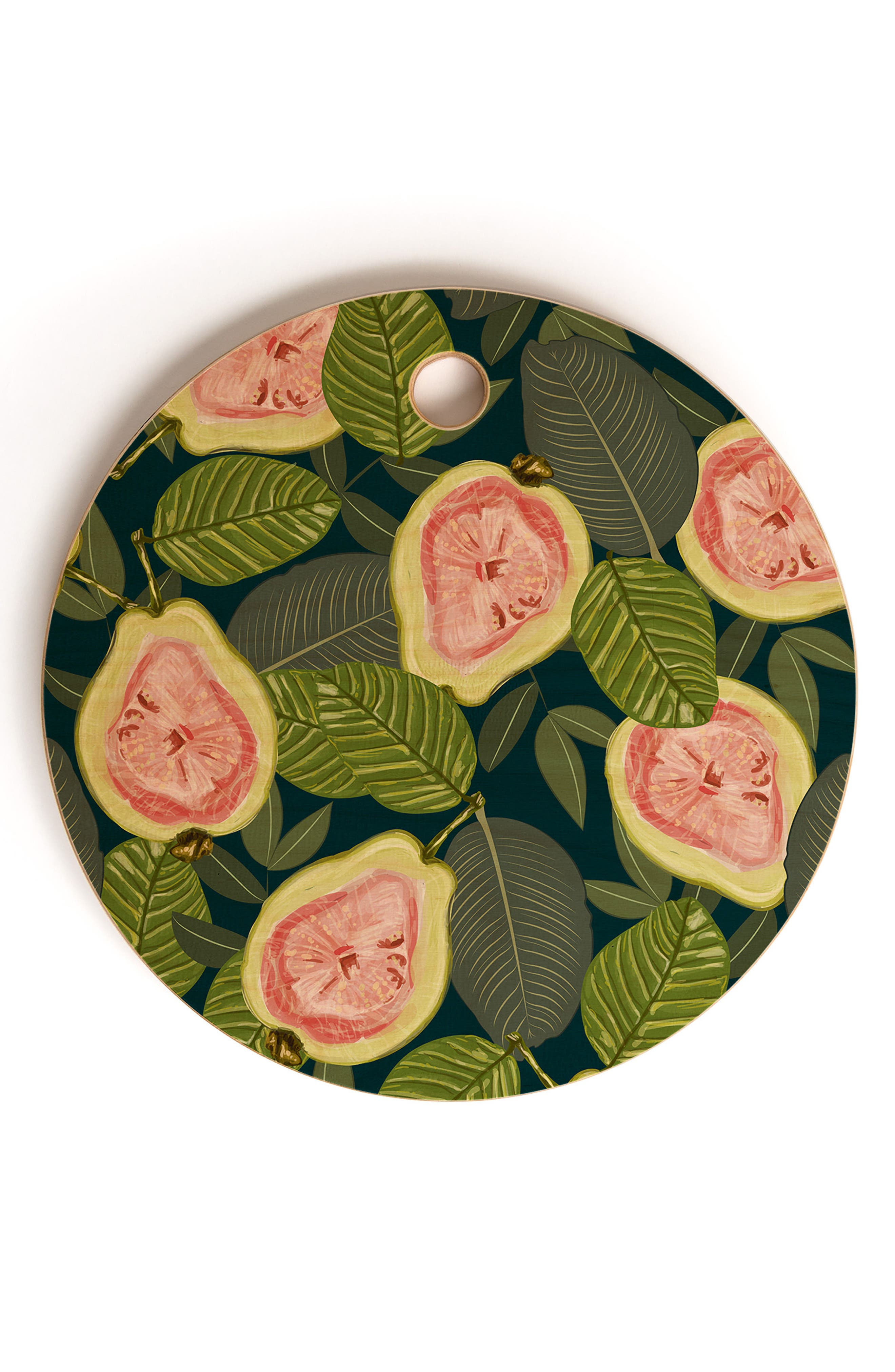 83 Oranges Guava Cutting Board,                             Main thumbnail 1, color,                             PINK