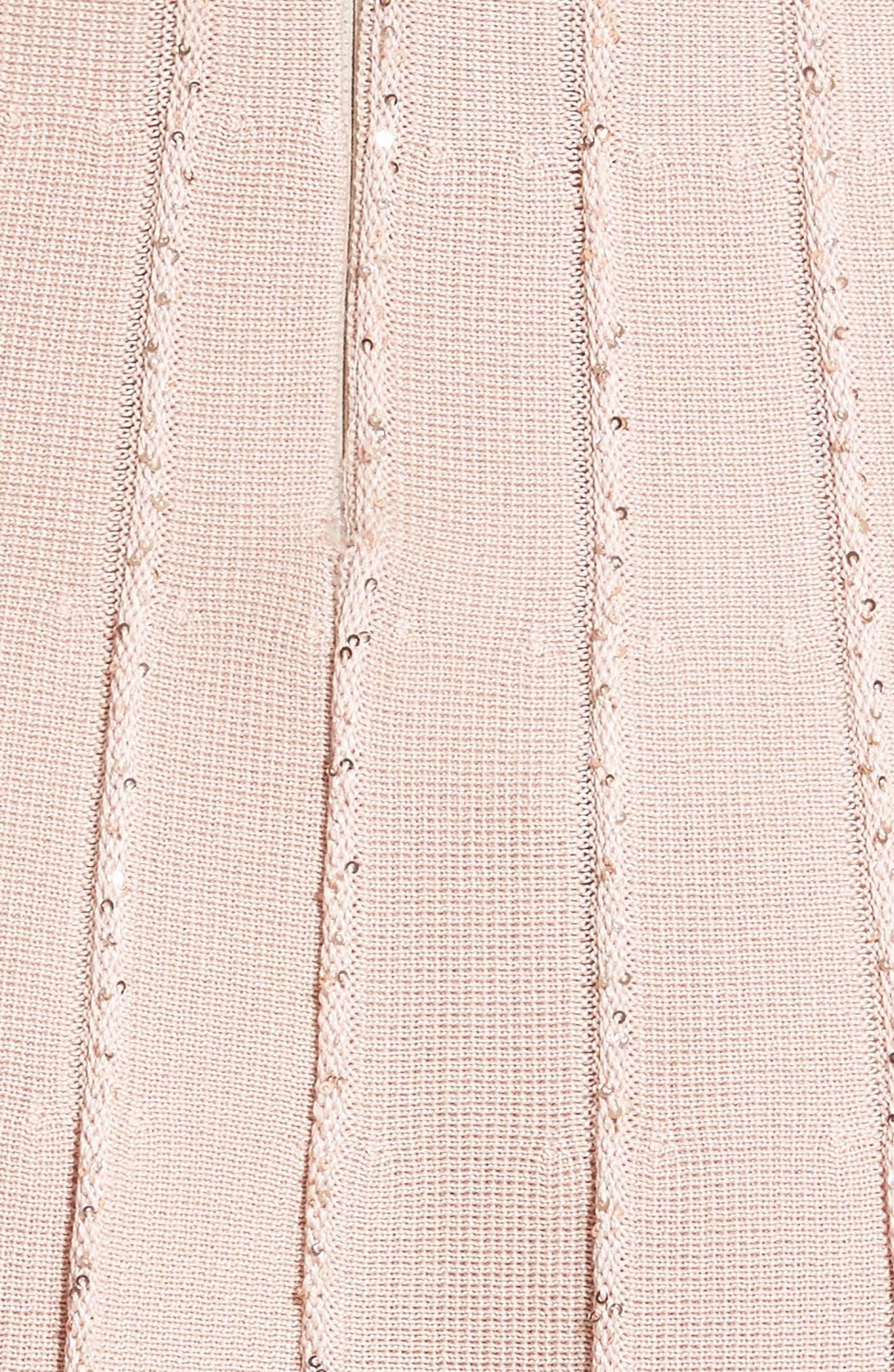 Sparkle Knit Pleated Dress,                             Alternate thumbnail 6, color,                             650