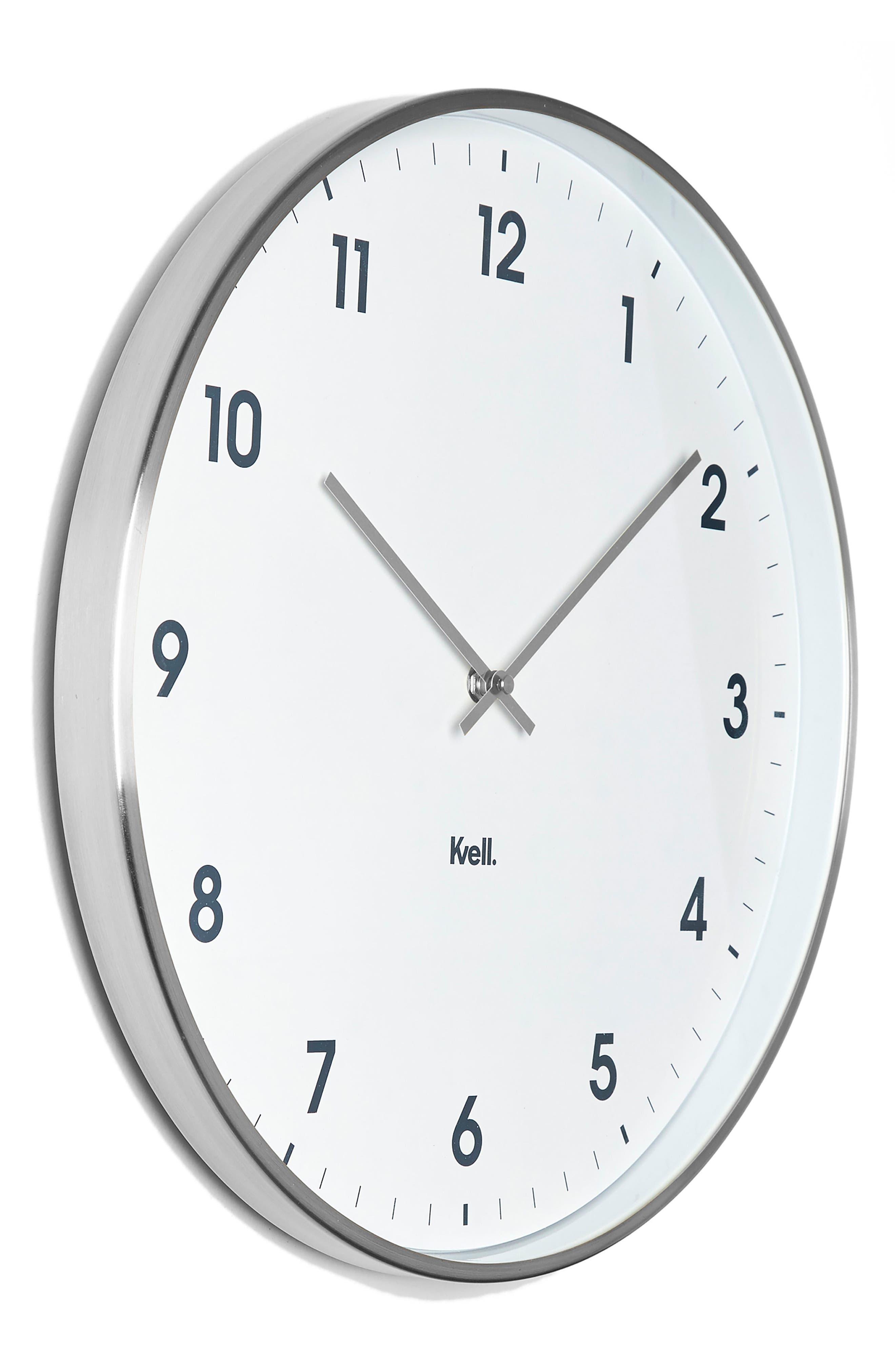 Klassic Wall Clock,                             Alternate thumbnail 2, color,                             040
