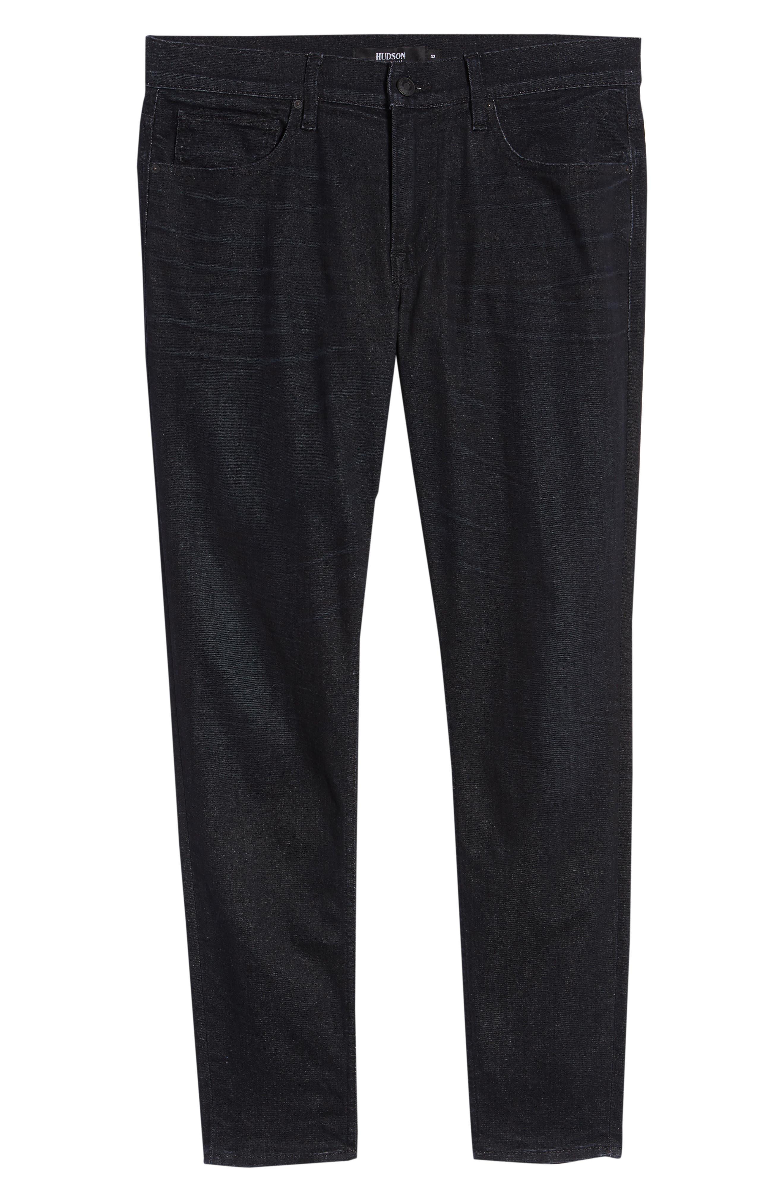 Zack Skinny Fit Jeans,                             Alternate thumbnail 6, color,                             001