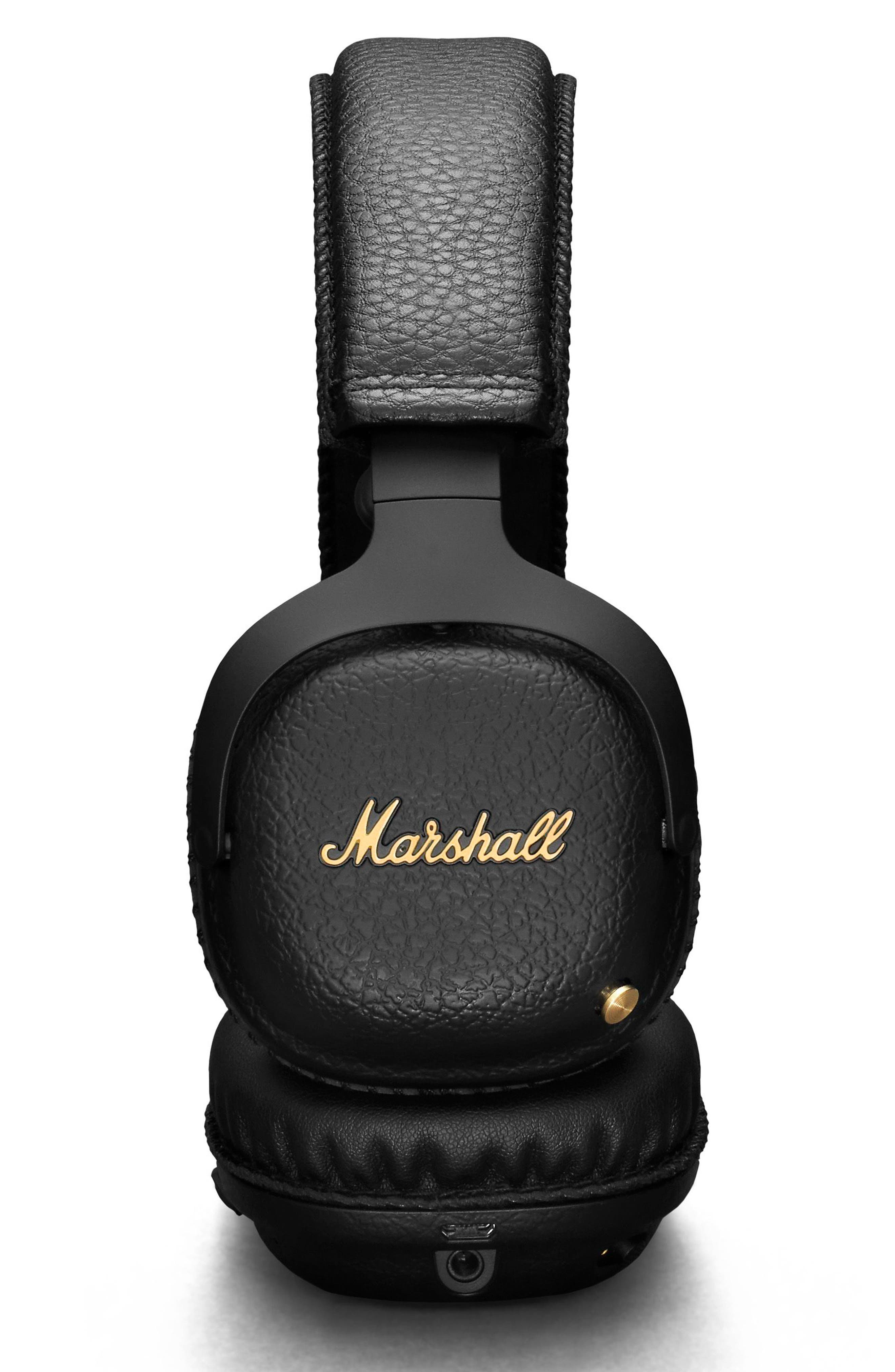 MID ANC Bluetooth<sup>®</sup> On-Ear Headphones,                             Alternate thumbnail 2, color,                             BLACK
