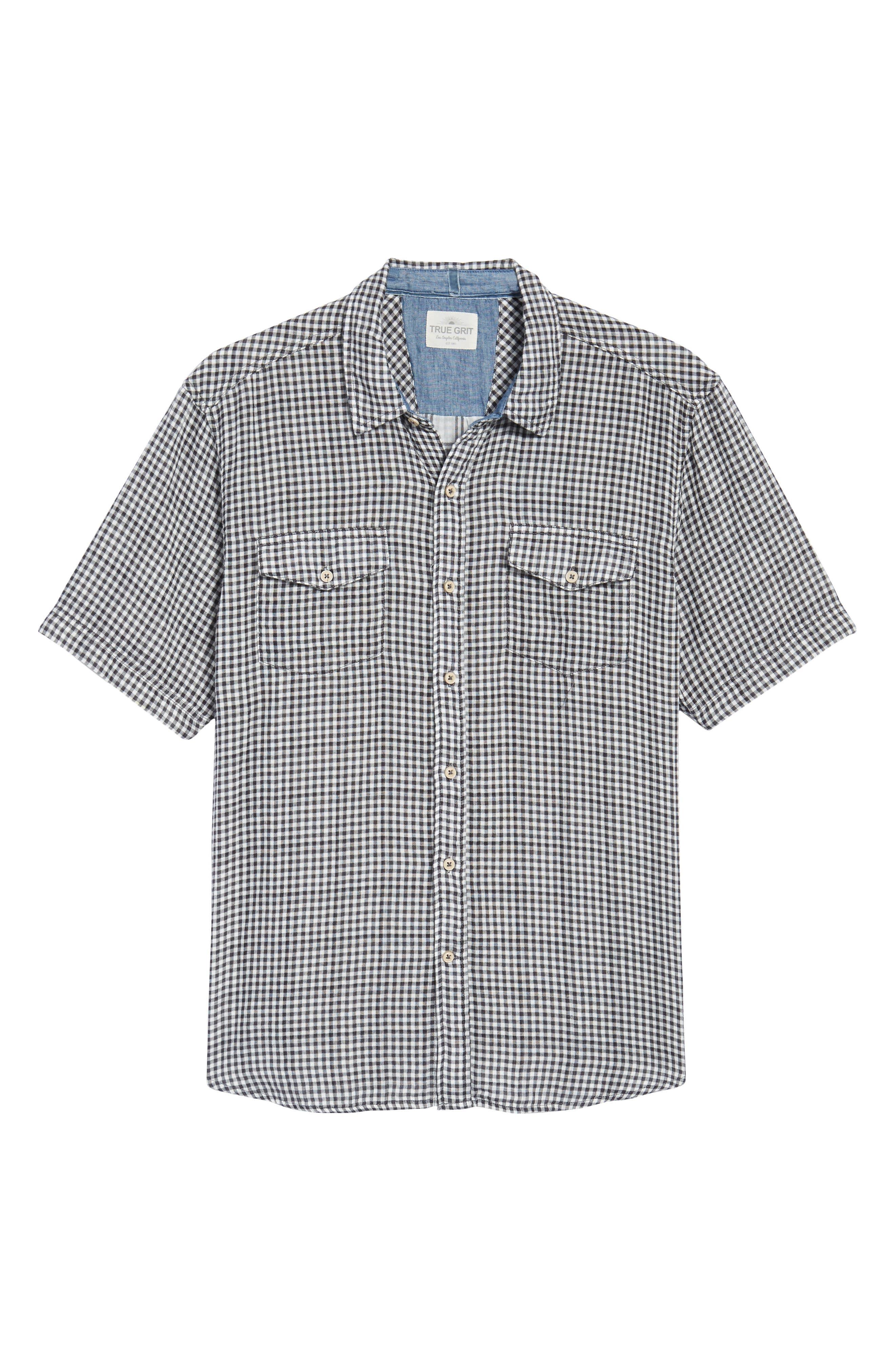 Soho Gingham Sport Shirt,                             Alternate thumbnail 12, color,