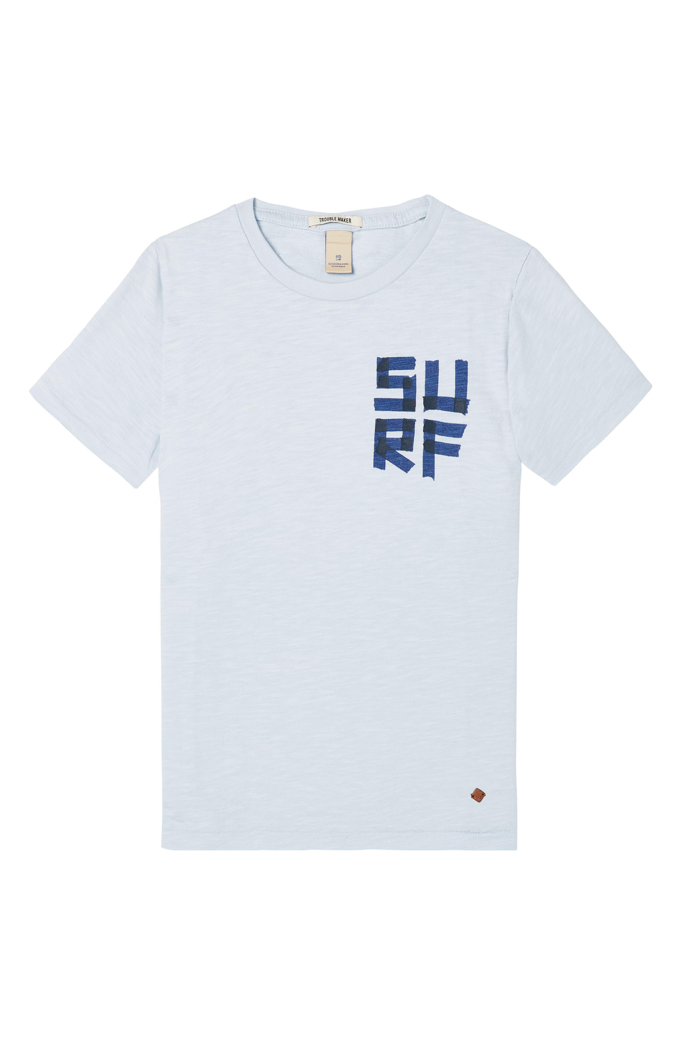 Surf Graphic T-Shirt,                         Main,                         color, 400