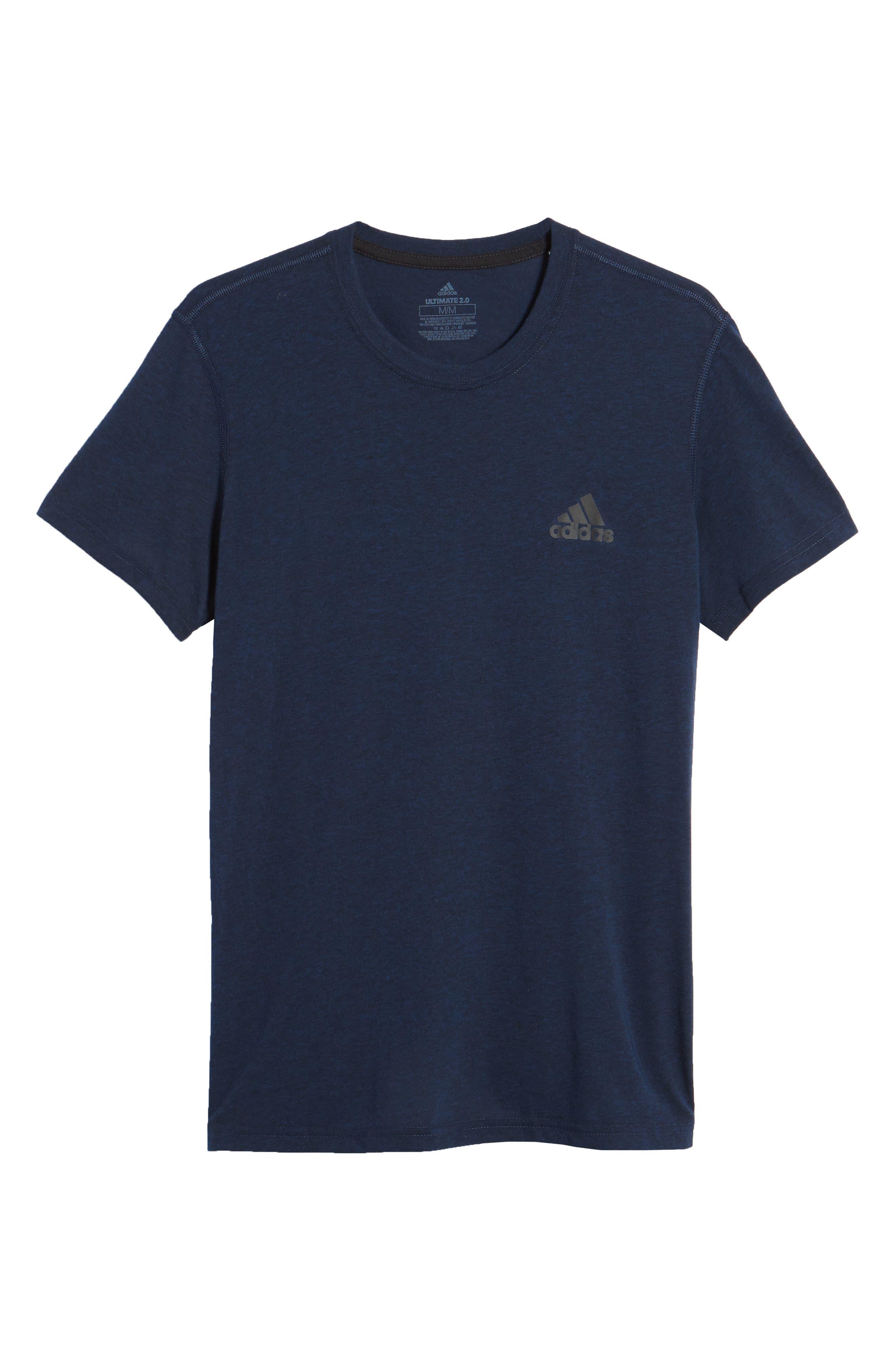 Ult Crewneck T-Shirt,                             Alternate thumbnail 6, color,                             002