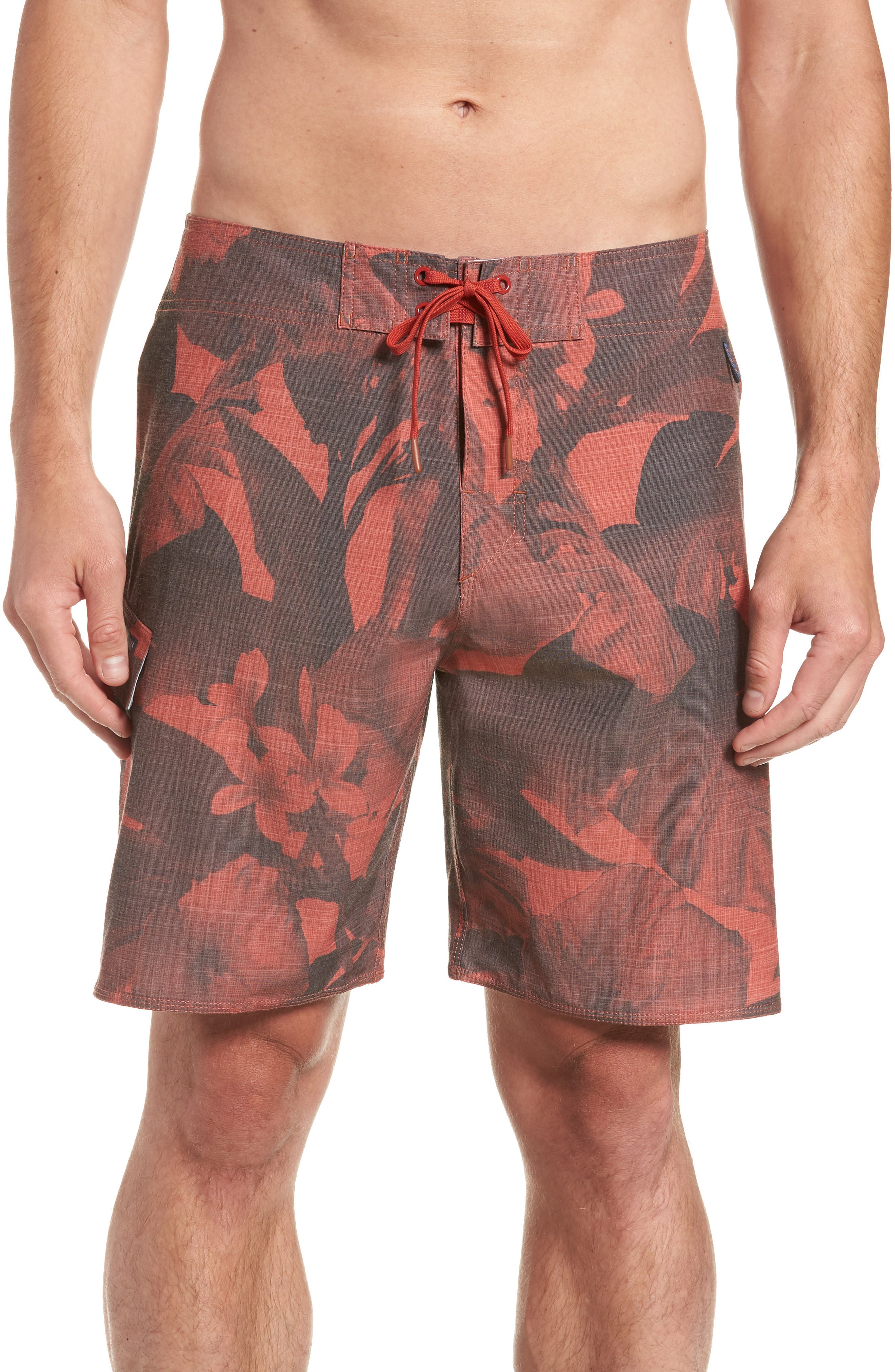 COVA Regular Fit Lazy Daze Board Shorts, Main, color, 602