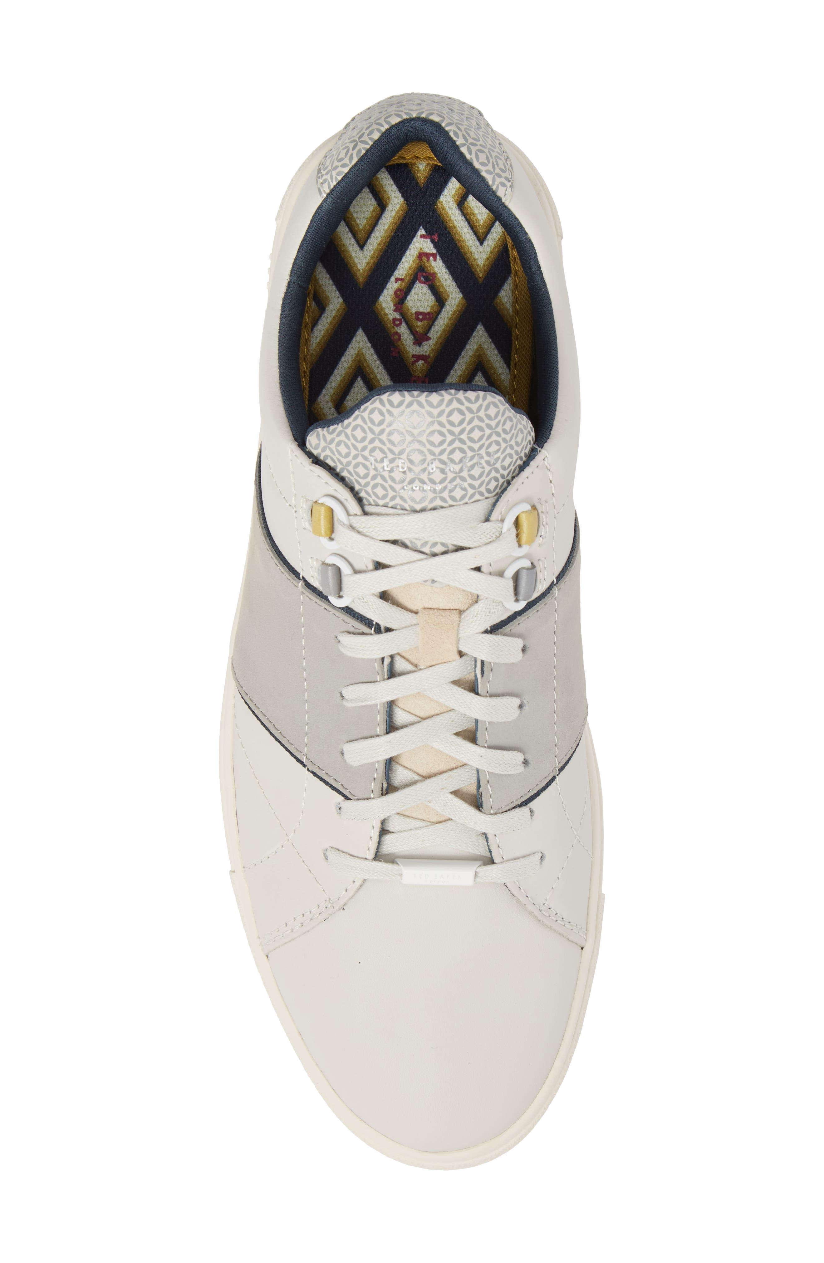 Ted Baker Quana Low Top Sneaker,                             Alternate thumbnail 5, color,                             152