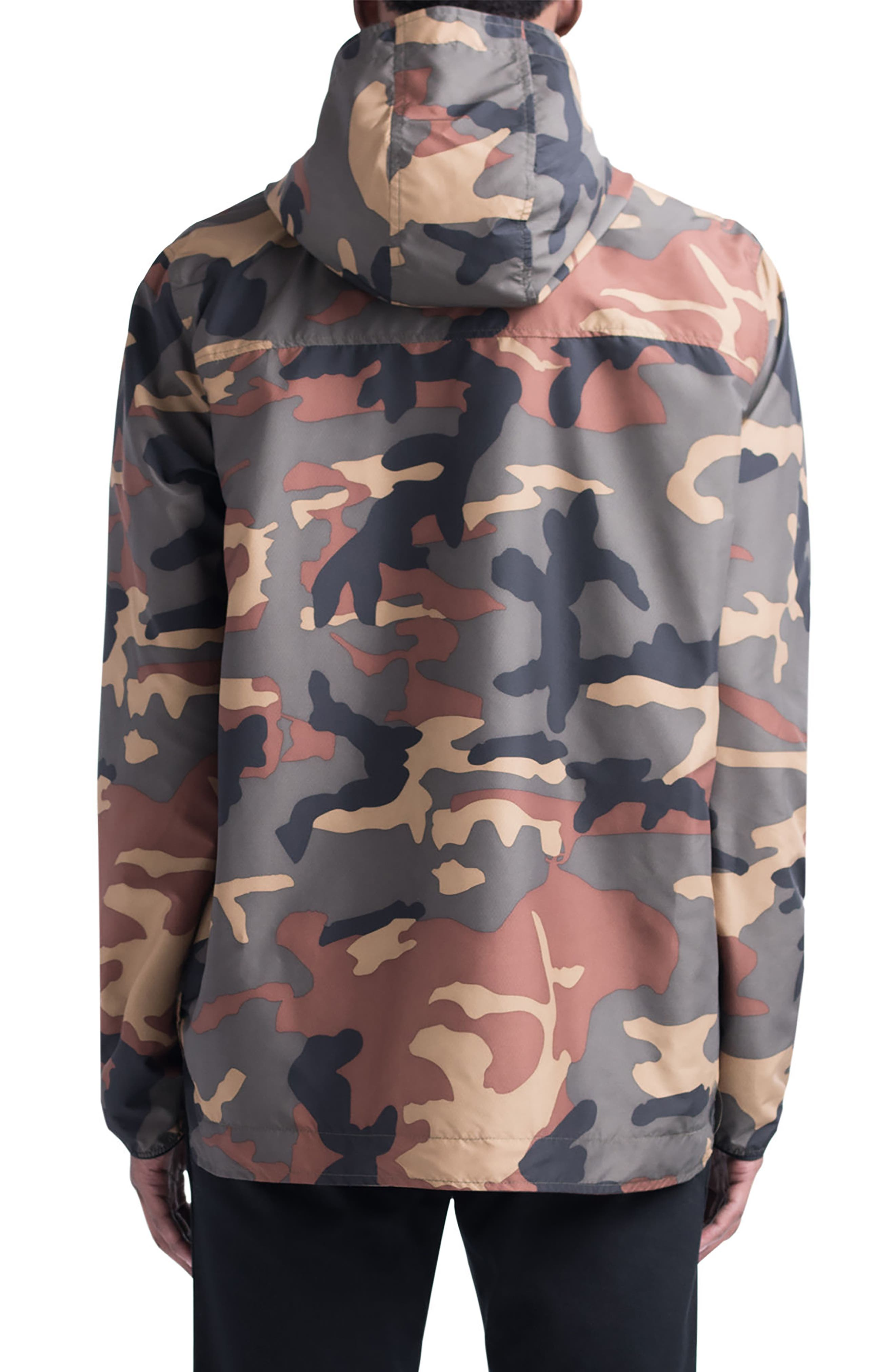 Voyage Anorak,                             Alternate thumbnail 2, color,                             WOODLAND CAMO