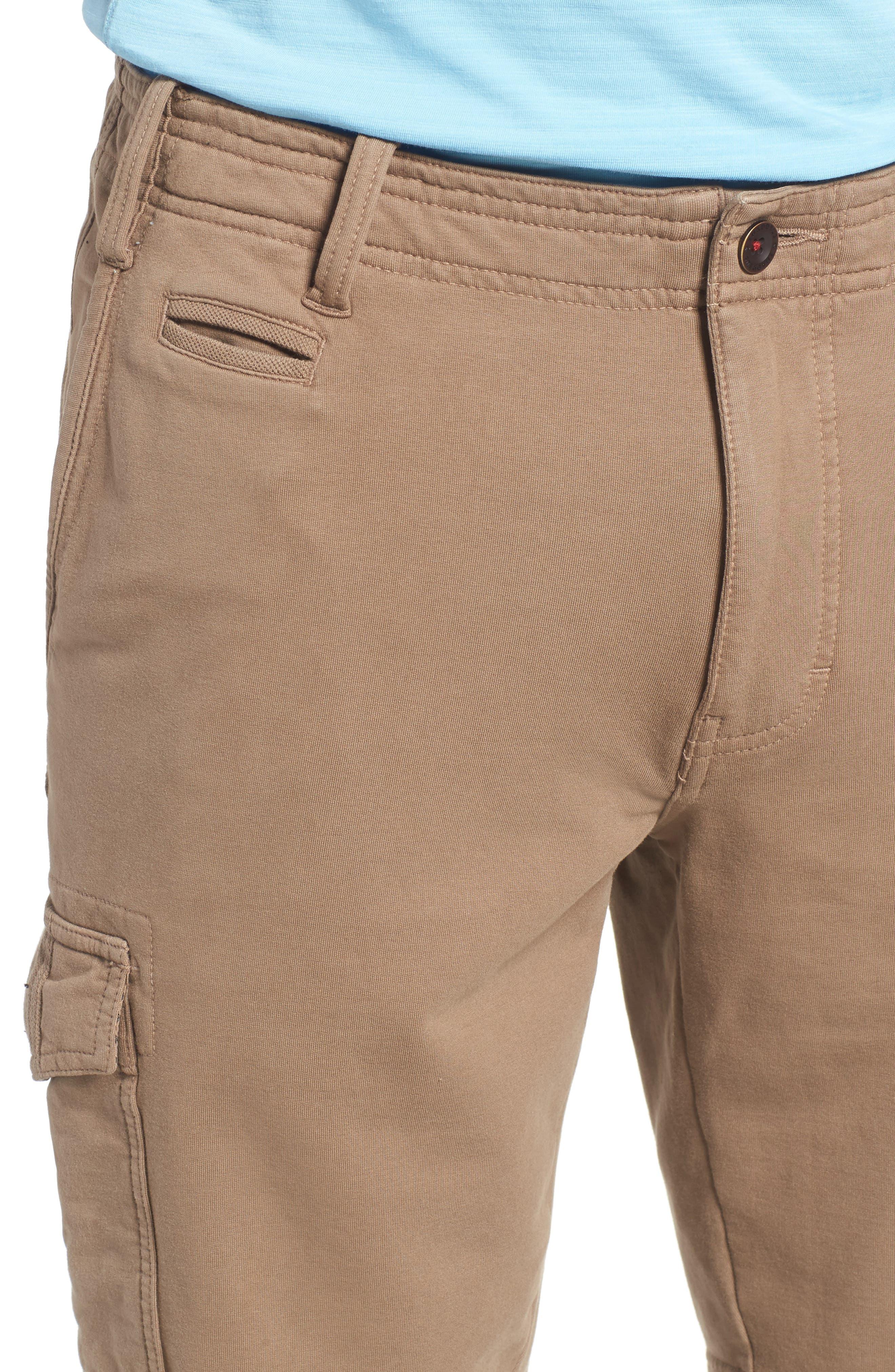 Carlton Knit Cargo Shorts,                             Alternate thumbnail 4, color,                             249