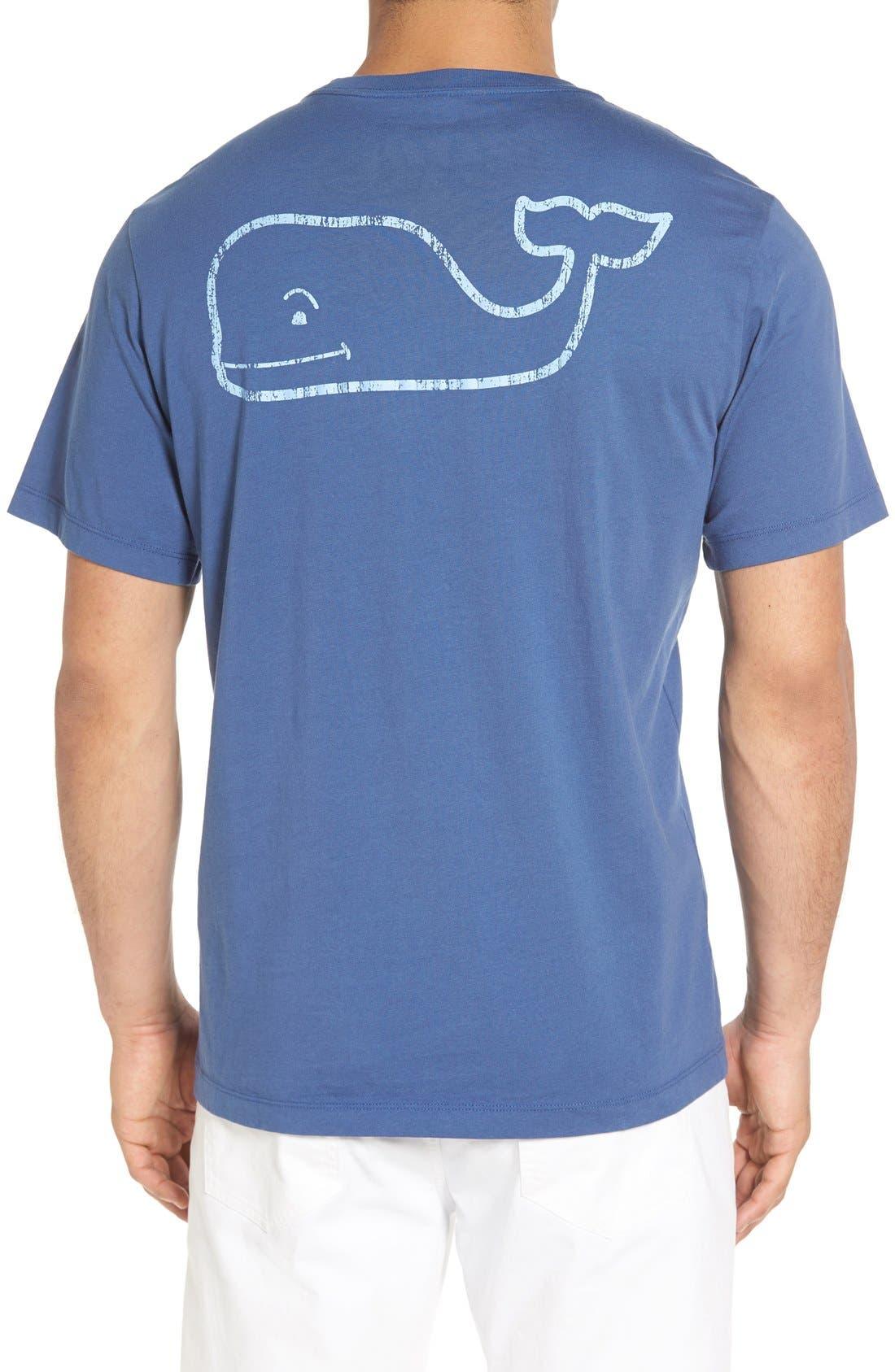 Vintage Whale Pocket T-Shirt,                             Main thumbnail 1, color,                             461