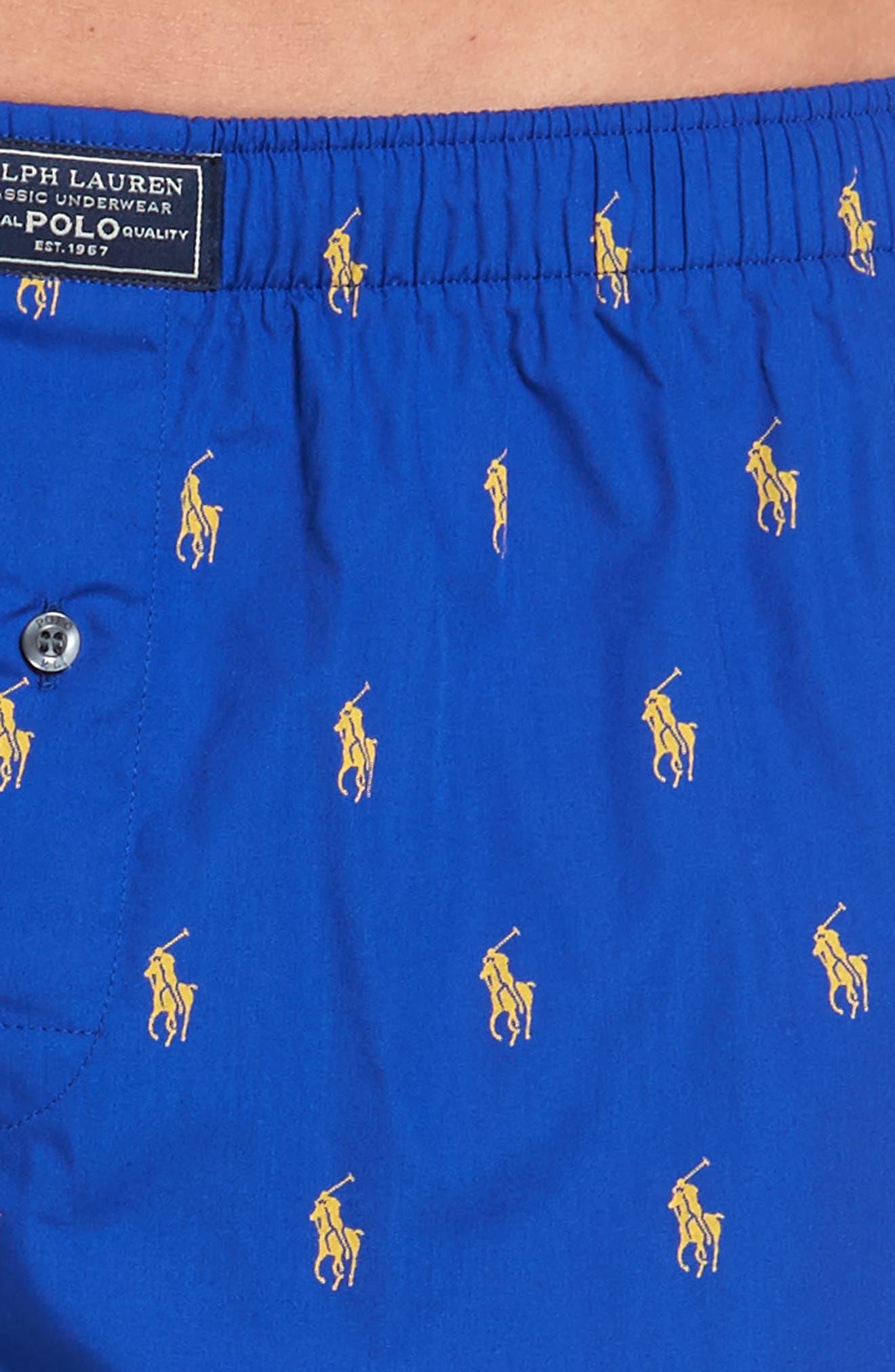 Pony Cotton Boxers,                             Alternate thumbnail 26, color,