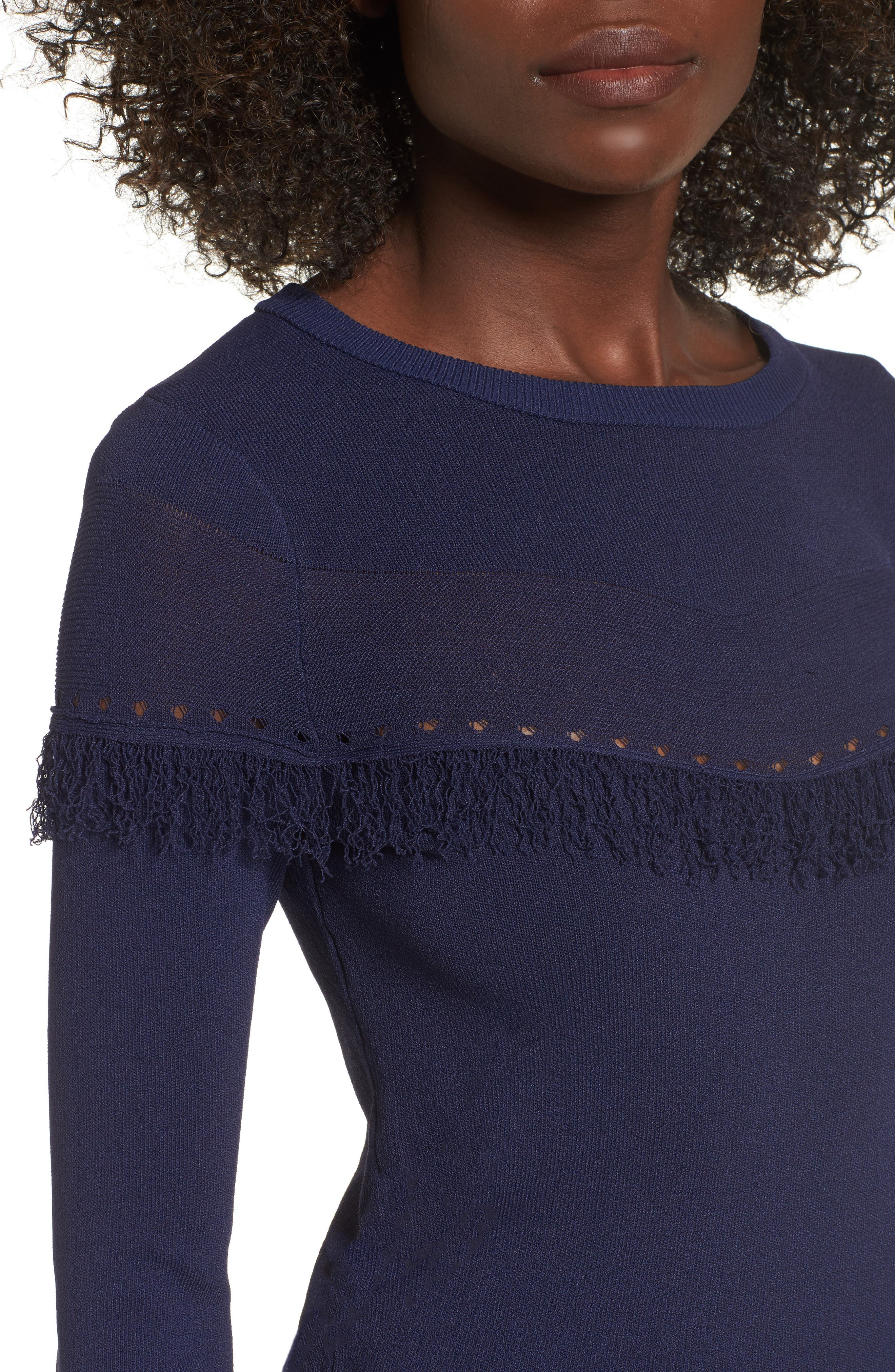 Kash Fringed Top,                             Alternate thumbnail 4, color,                             400
