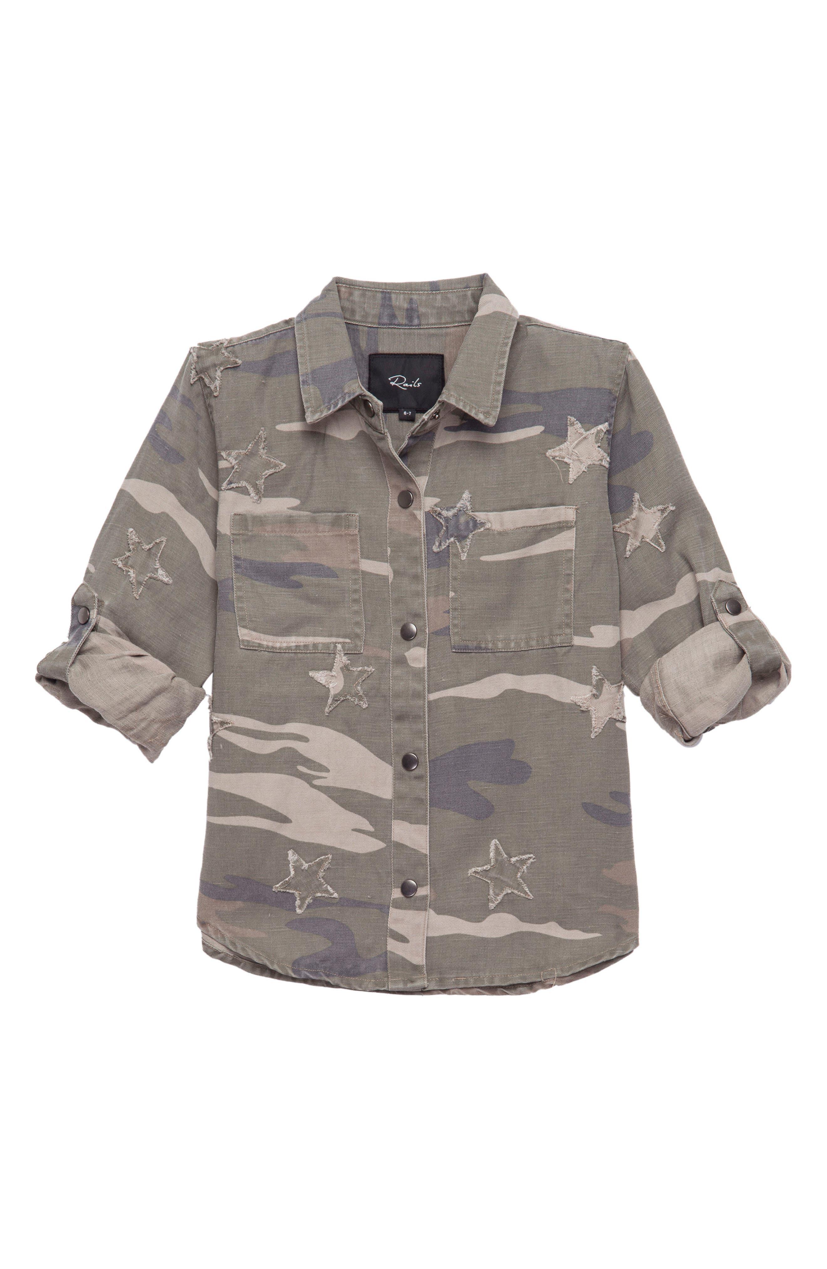 Margot Camo Star Shirt,                         Main,                         color,