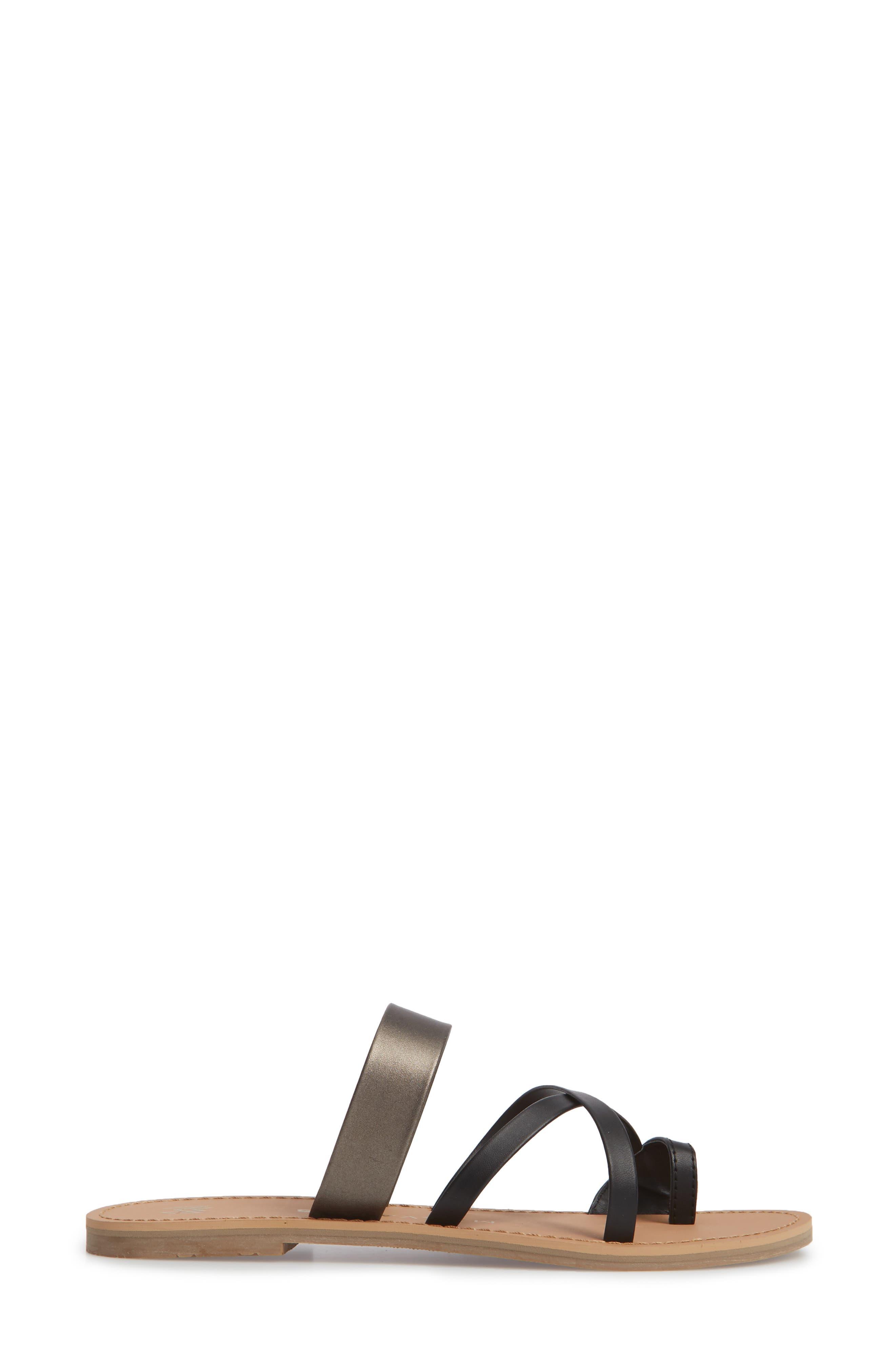 Icon Joni Slide Sandal,                             Alternate thumbnail 3, color,                             001
