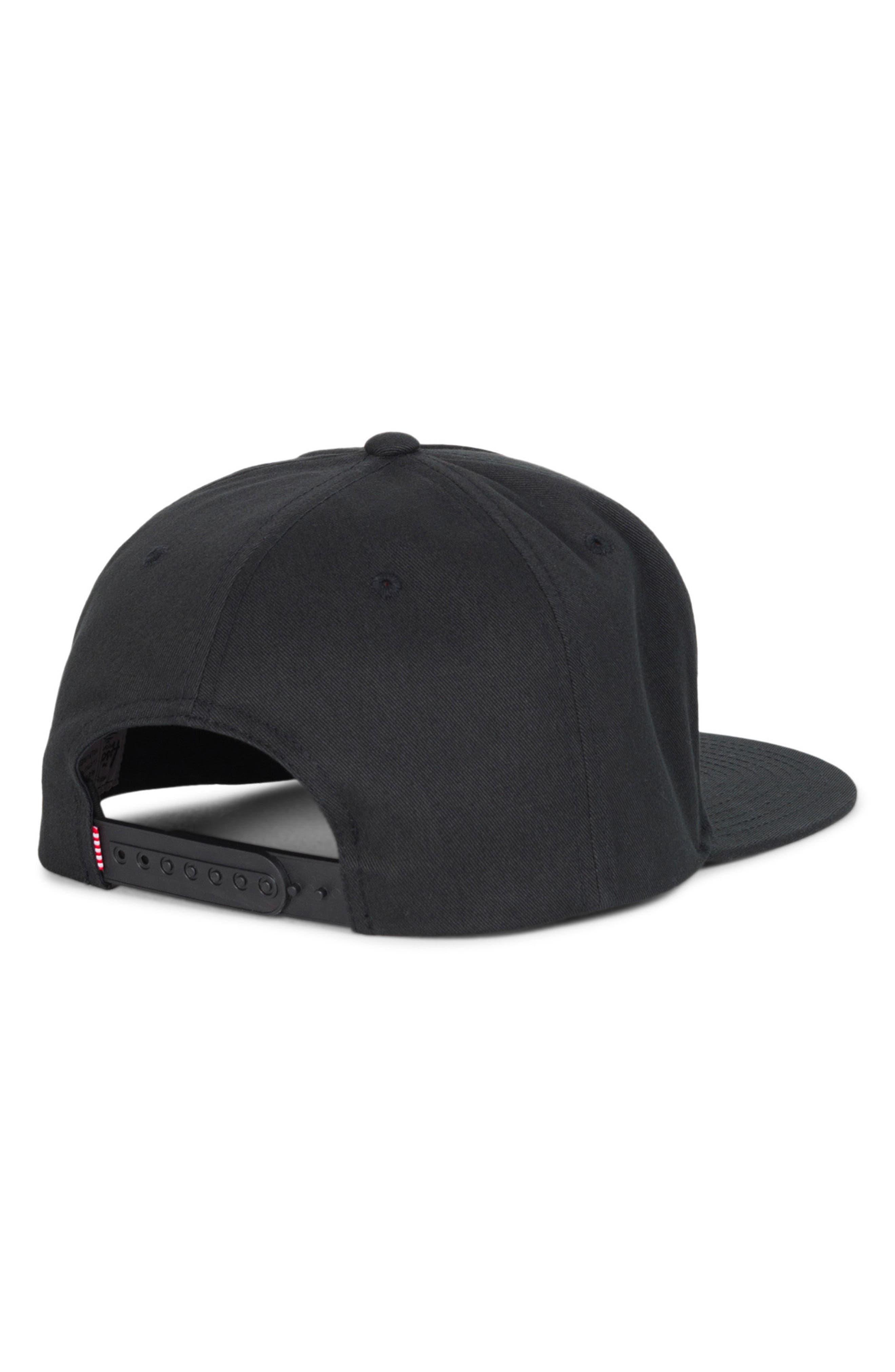 Trademark Snapback Baseball Cap,                             Alternate thumbnail 2, color,                             001
