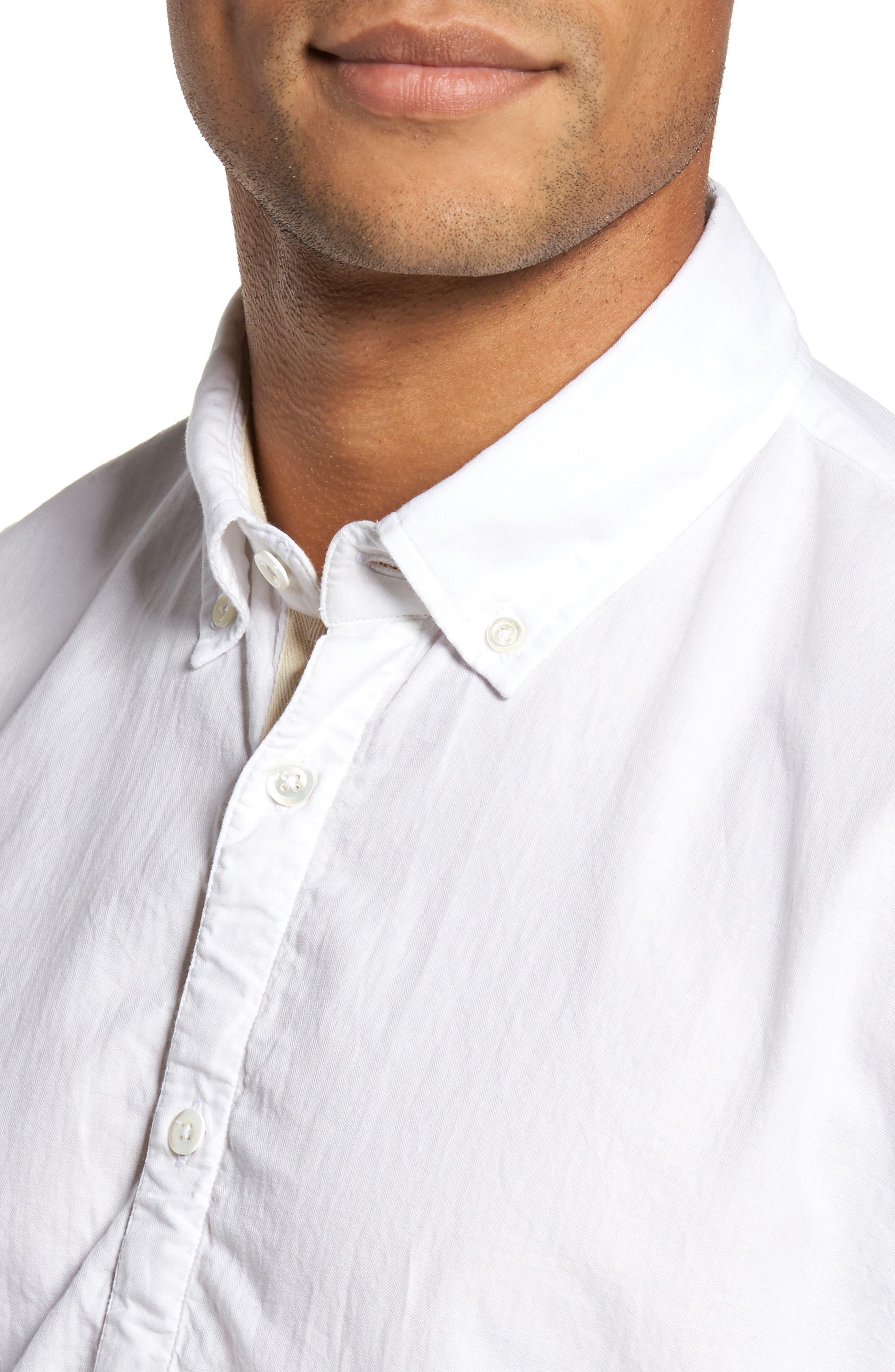 Irvine Sport Shirt,                             Alternate thumbnail 4, color,                             100