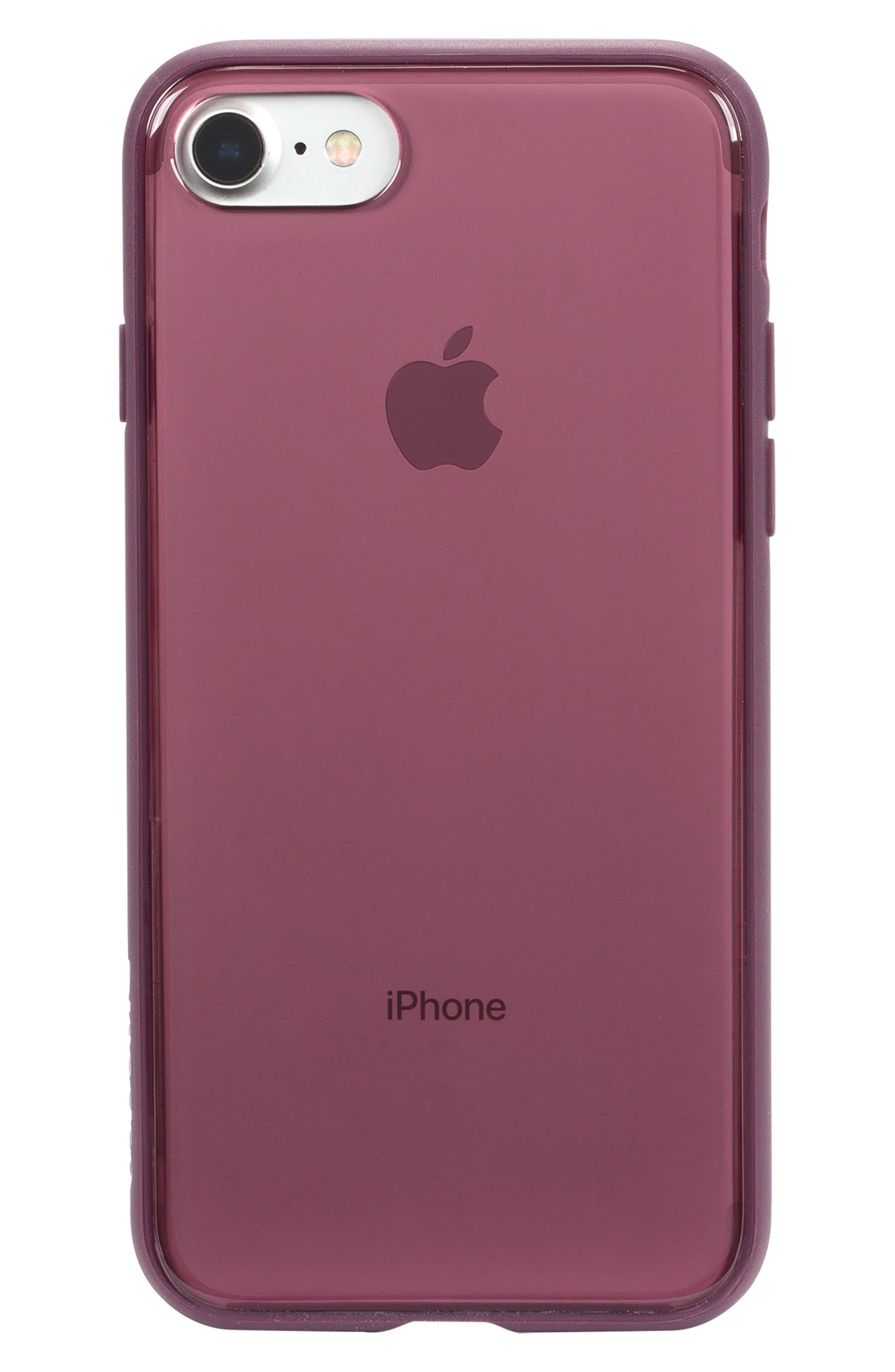 Pop iPhone 7/8 Case,                             Main thumbnail 1, color,                             BERRY