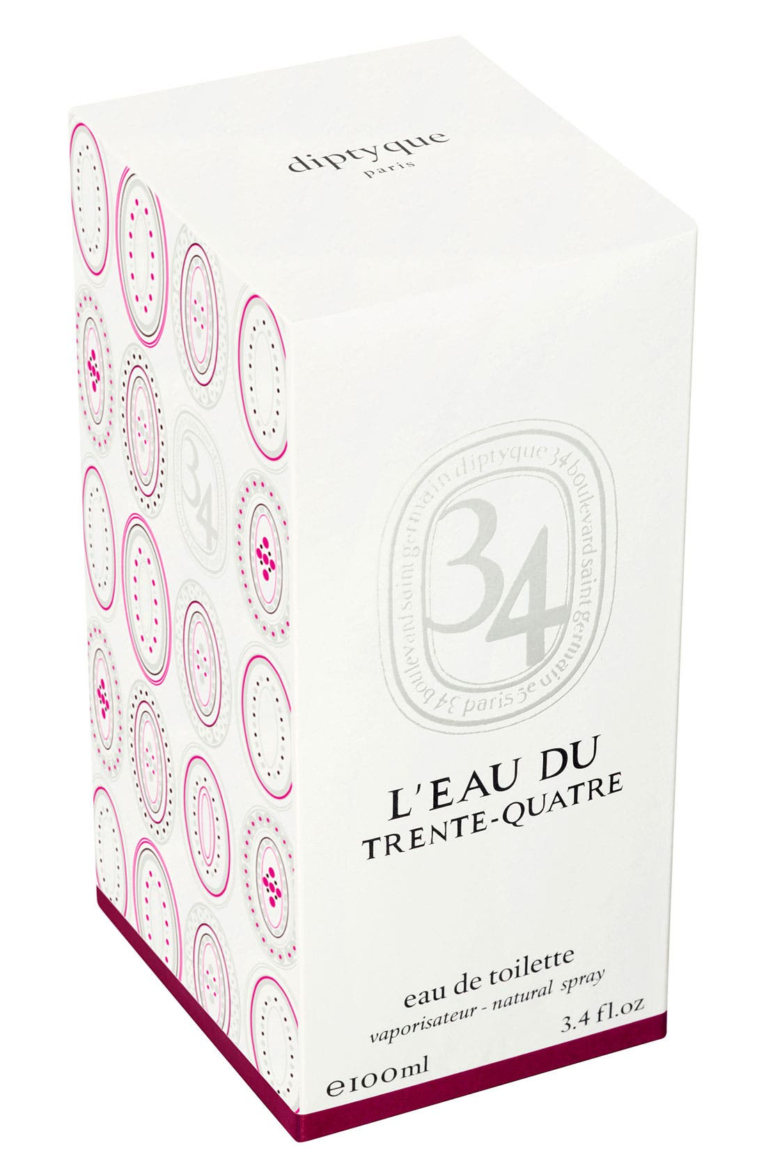 34 L'Eau du Trent-Quatre Eau de Toilette,                             Alternate thumbnail 4, color,                             NO COLOR