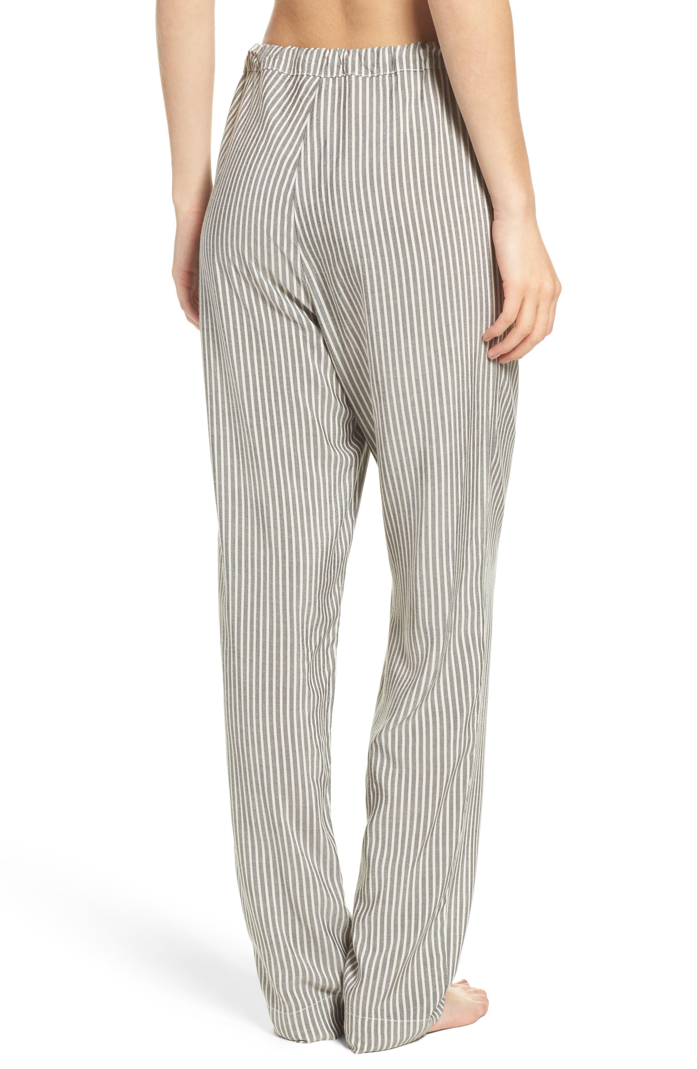 Stripe Pajama Pants,                             Alternate thumbnail 2, color,                             020