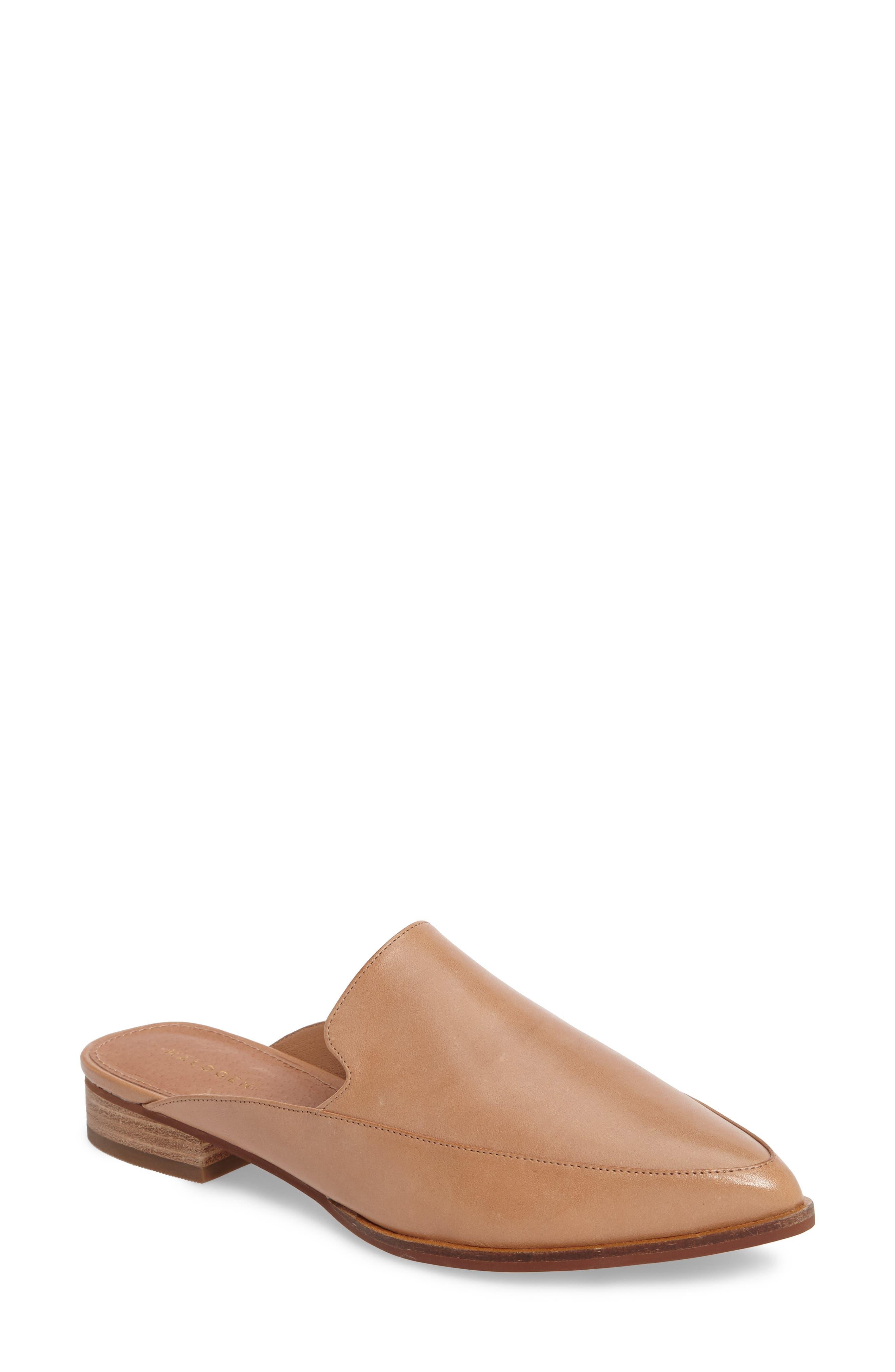 Corbin Genuine Calf Hair Slide Loafer,                             Main thumbnail 4, color,