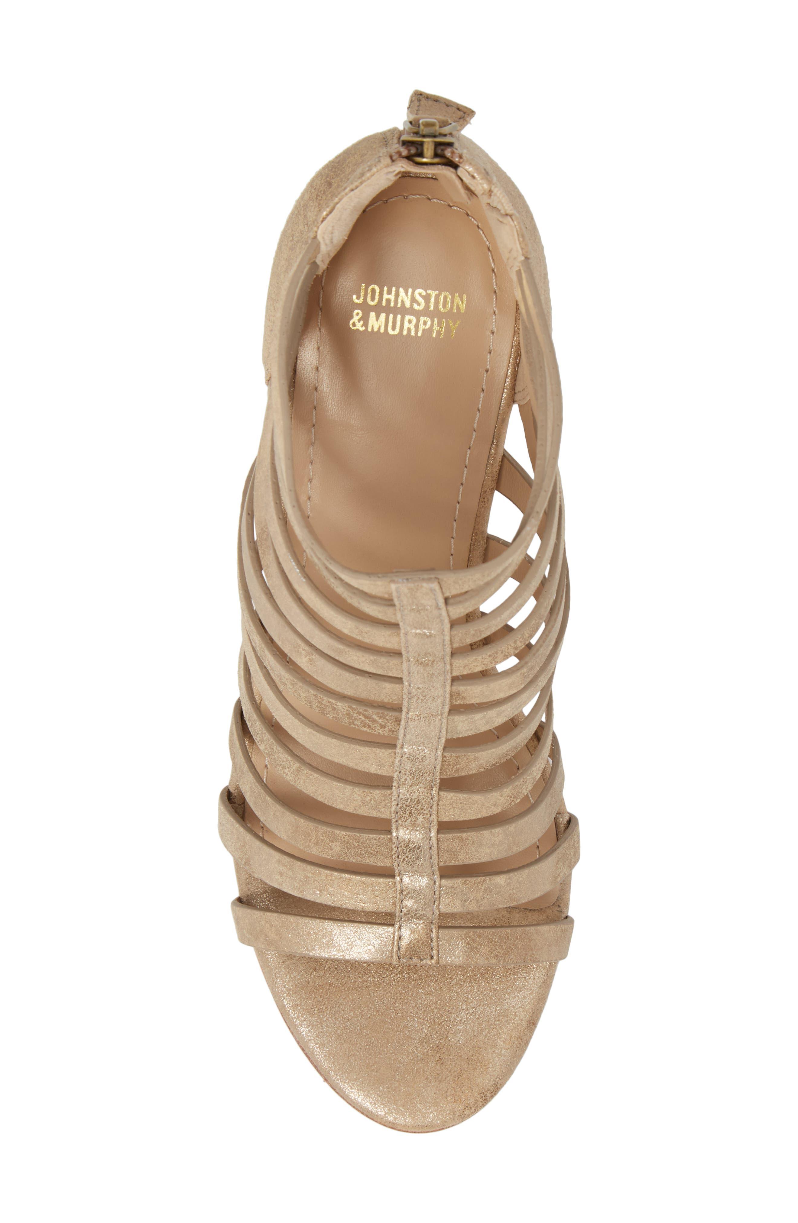 Geneva Strappy Wedge Sandal,                             Alternate thumbnail 10, color,