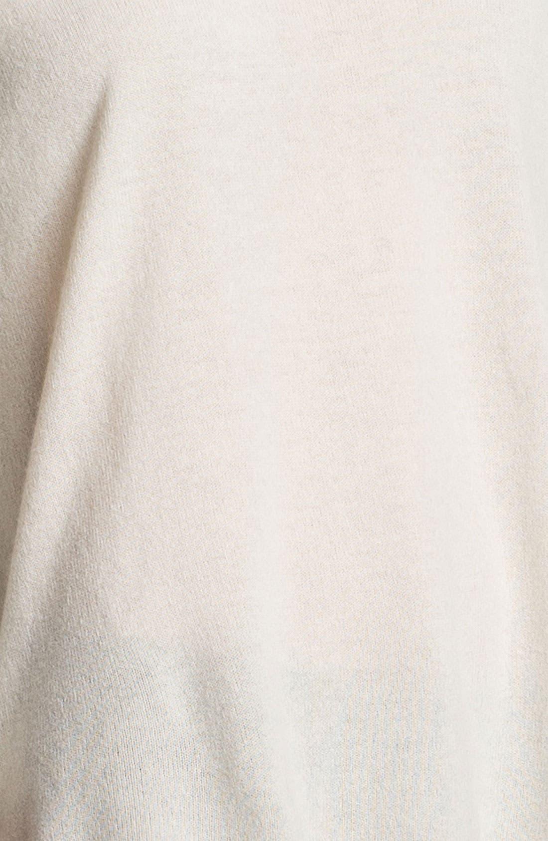 Colorblock Cashmere Sweater,                             Alternate thumbnail 5, color,                             100