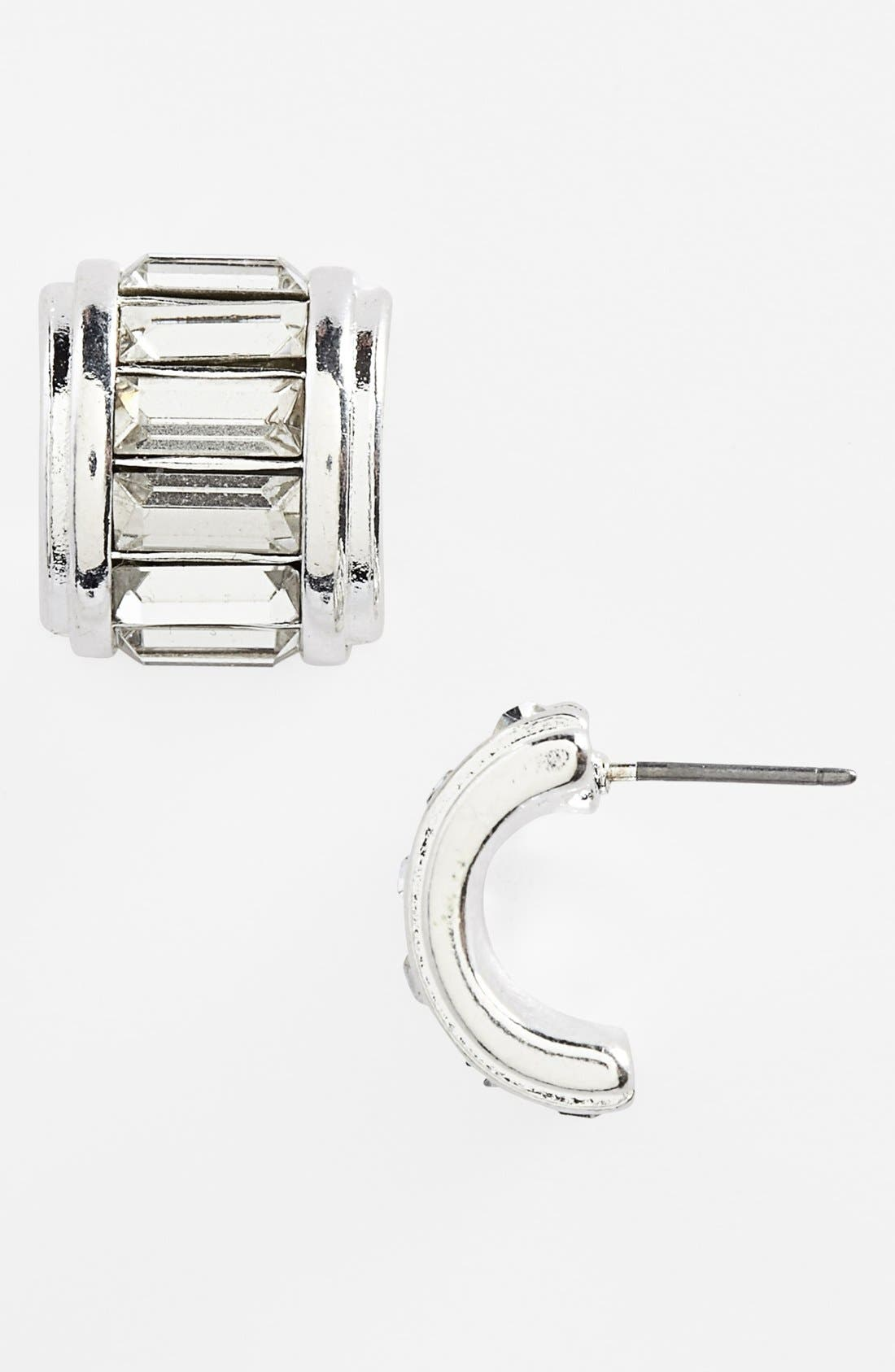 Small Hoop Earrings,                         Main,                         color, 040