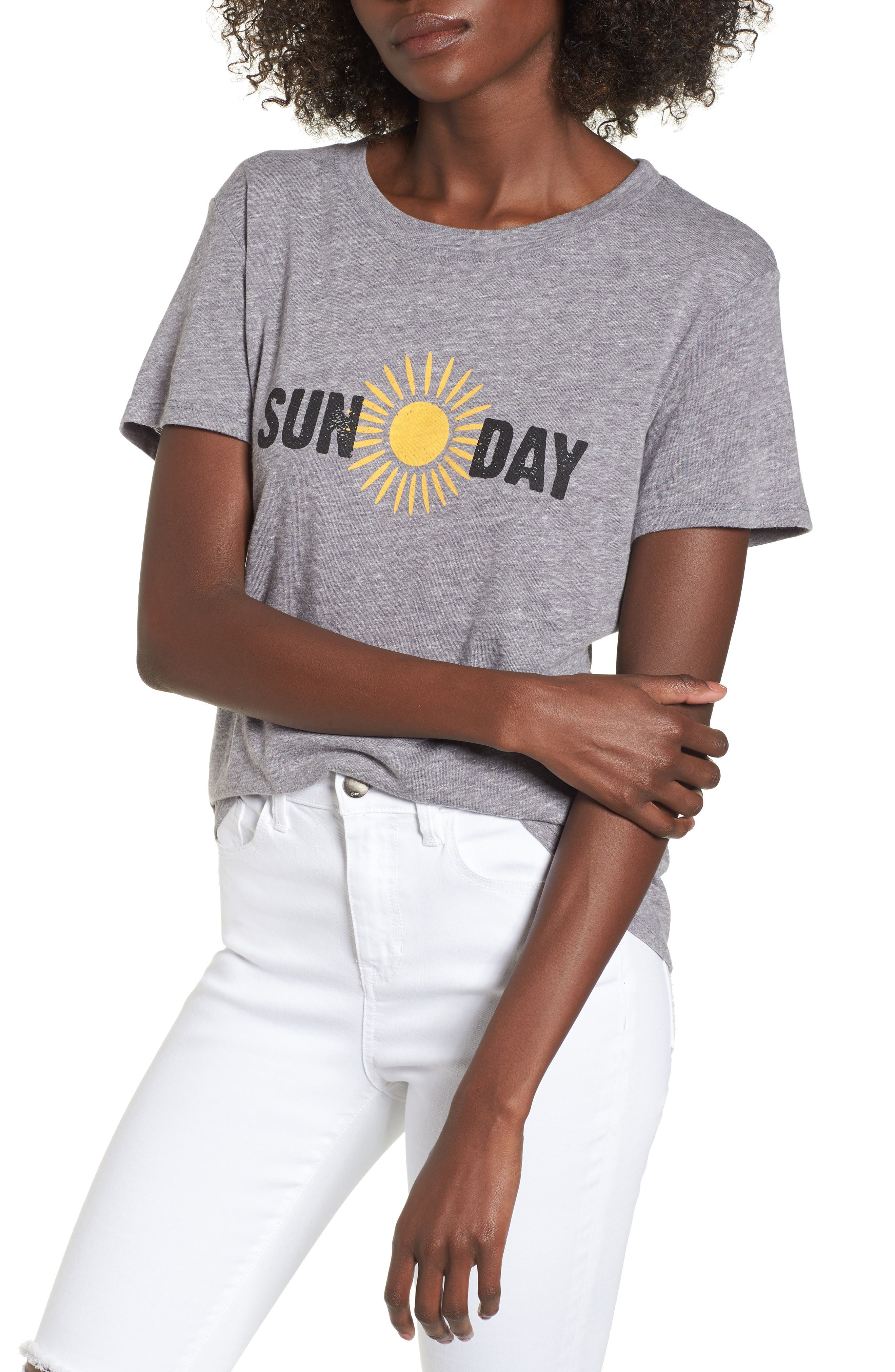 Sun Day Graphic Tee,                             Main thumbnail 1, color,                             050