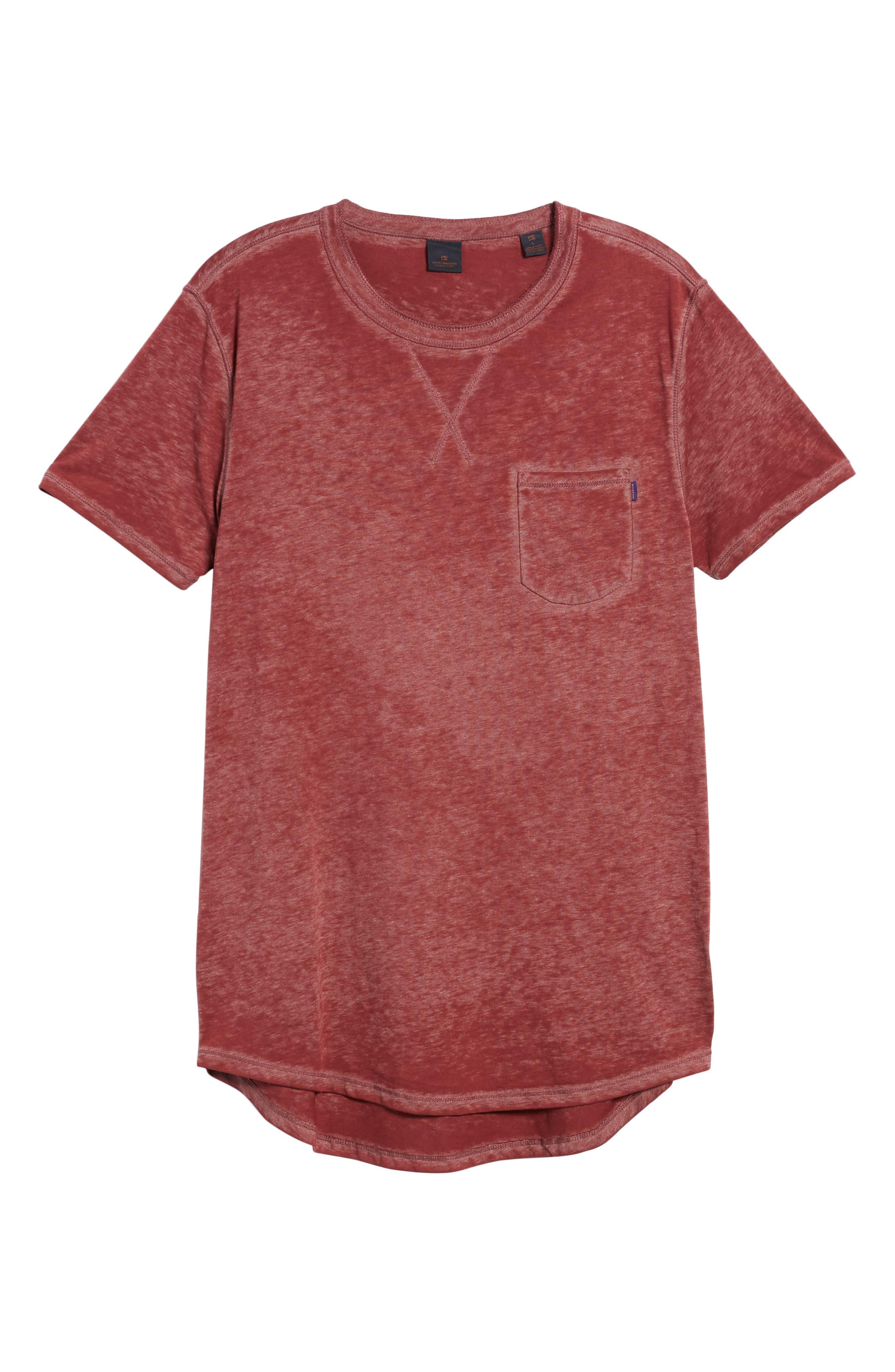 Pocket T-Shirt,                             Alternate thumbnail 6, color,                             610