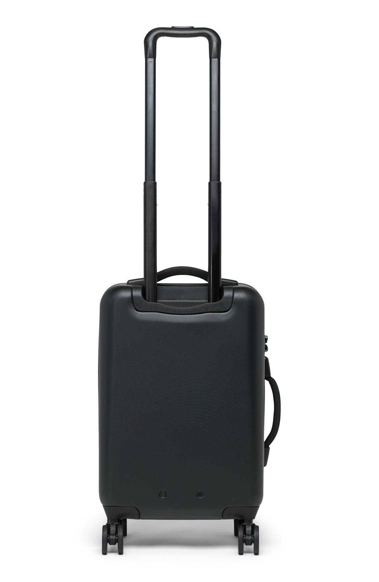 Trade 23-Inch Rolling Suitcase,                             Alternate thumbnail 4, color,                             BLACK