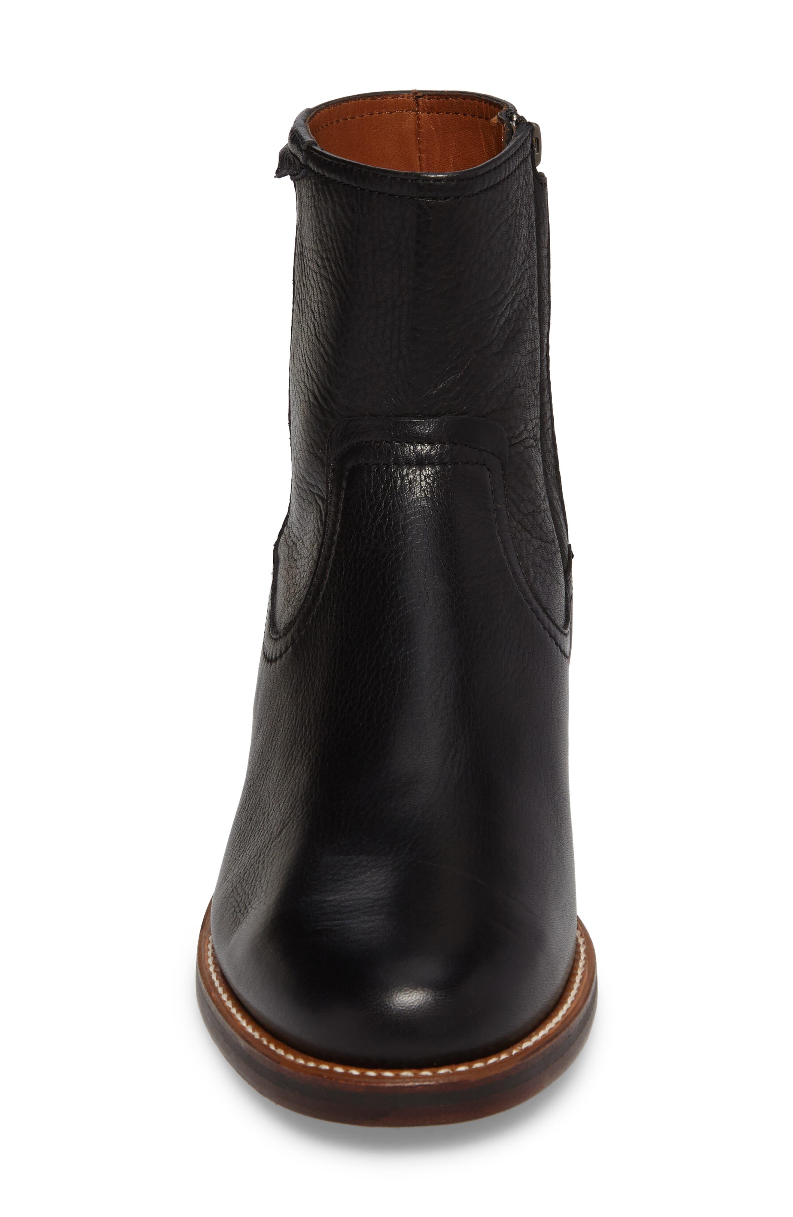 Ariat Santa Fe Mid Zip Boot,                             Alternate thumbnail 4, color,                             001