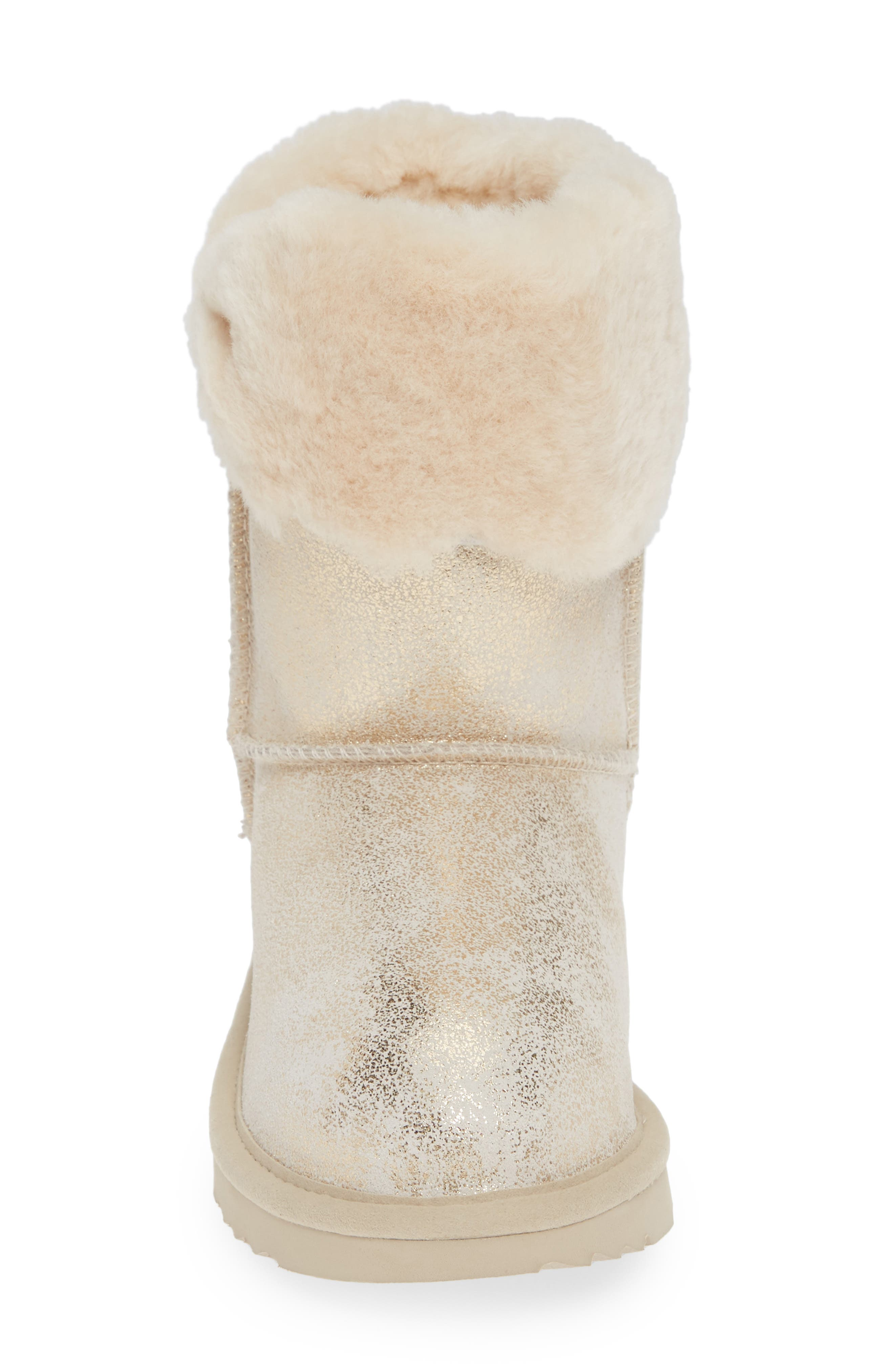 Ramona II Classic Short Boot,                             Alternate thumbnail 4, color,                             GOLD