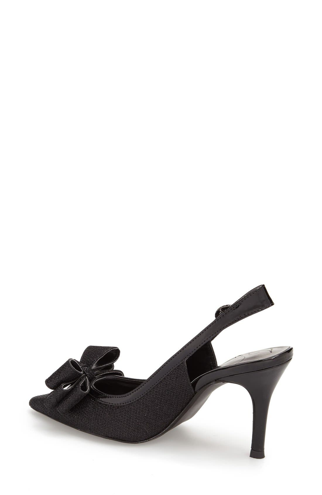 'Charise' Slingback Pump,                             Alternate thumbnail 2, color,                             001
