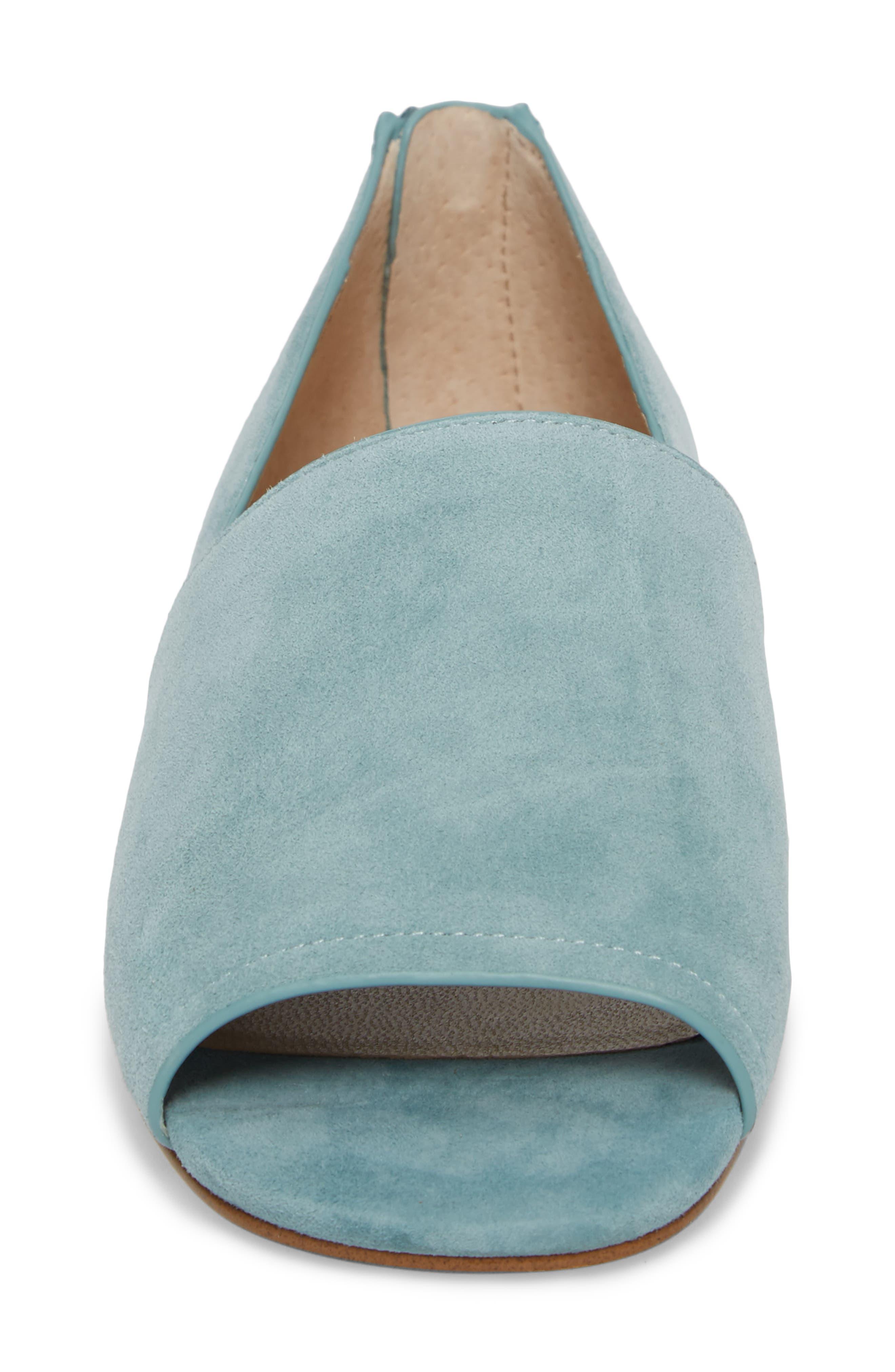 Maxine Peep Toe Flat,                             Alternate thumbnail 28, color,