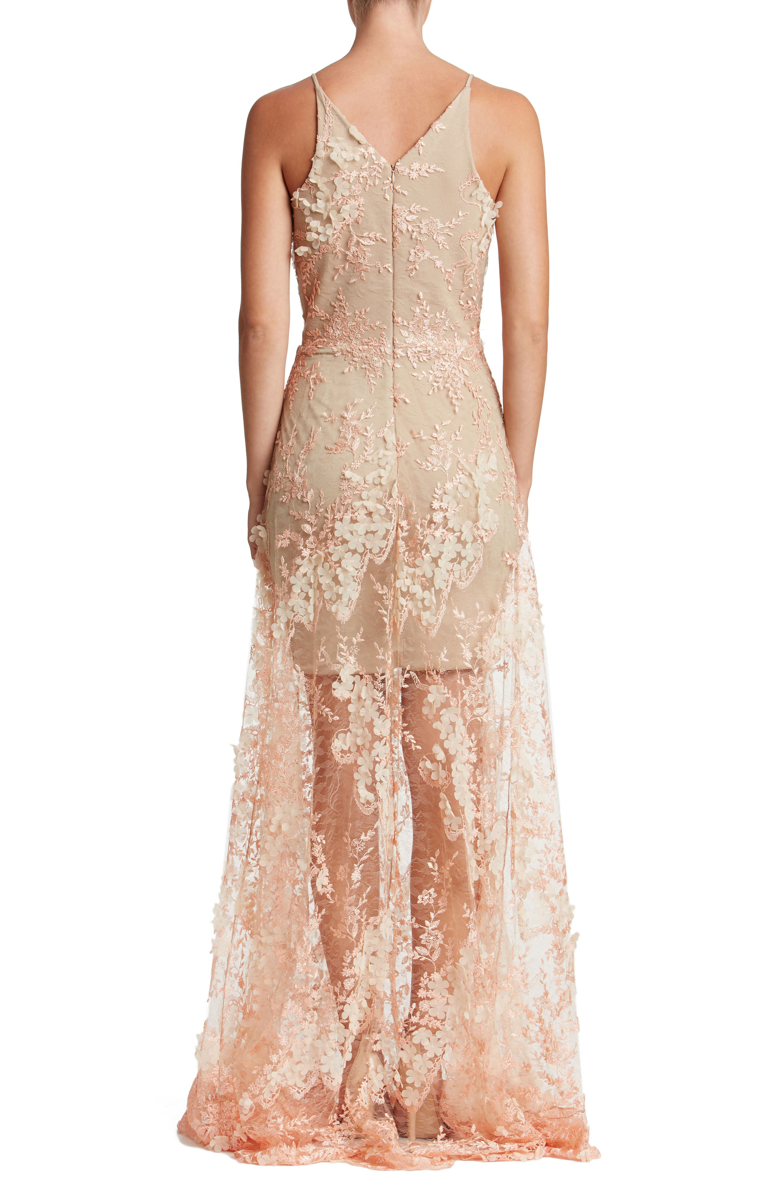 Sidney Lace Gown,                             Main thumbnail 3, color,