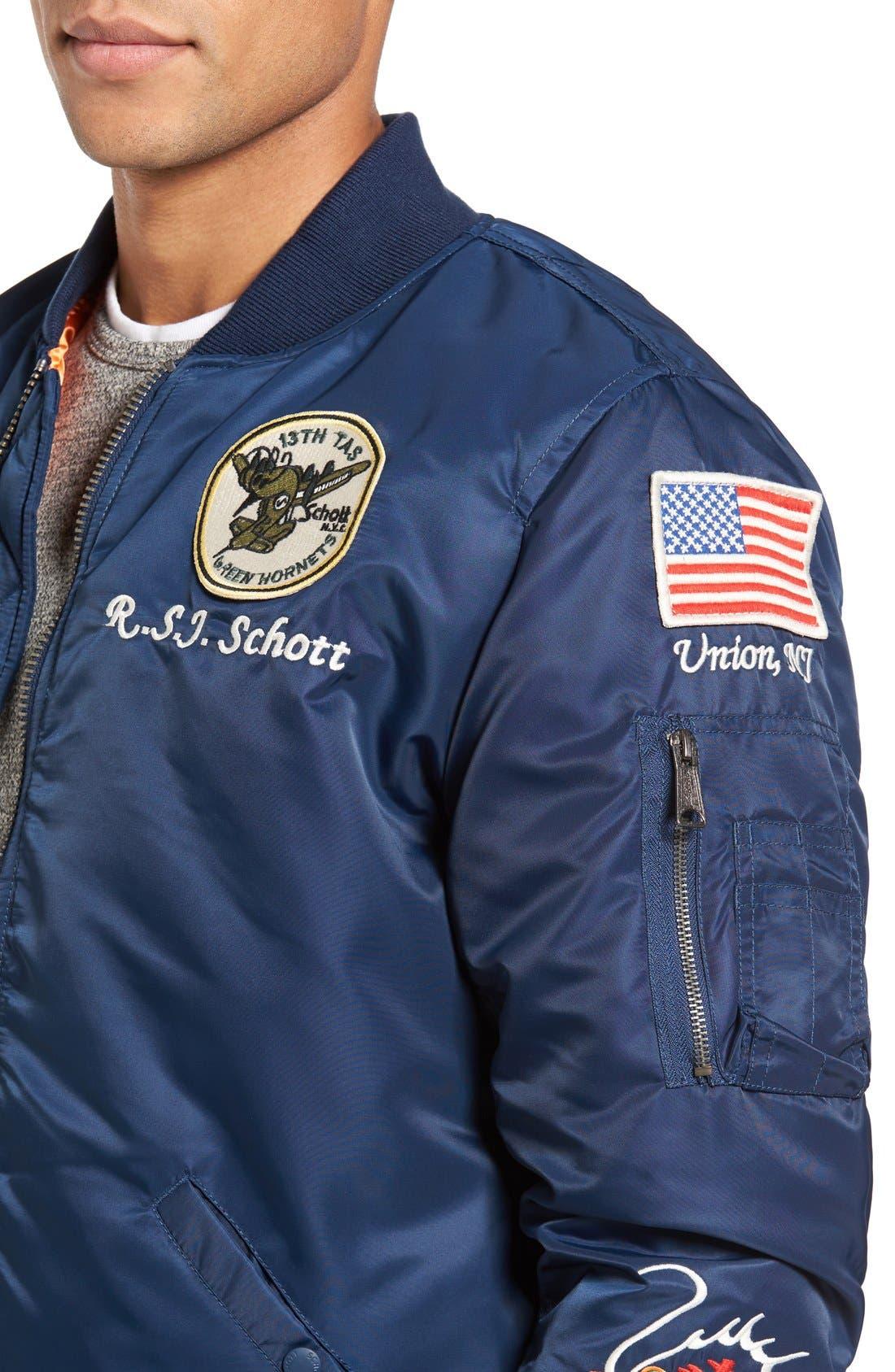Souvenir MA-1 Flight Jacket,                             Alternate thumbnail 12, color,