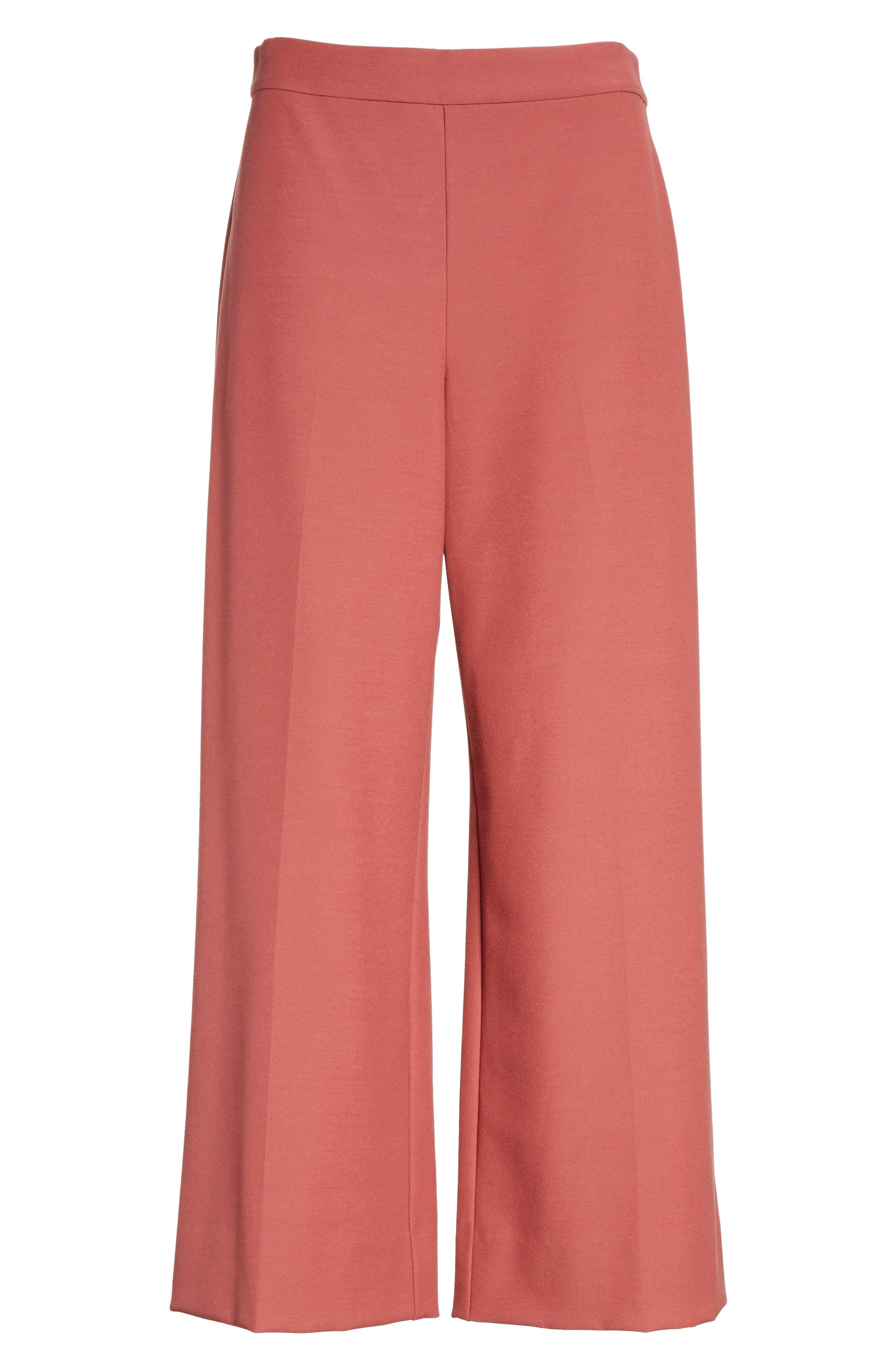 Stretch Suiting Crop Pants,                             Alternate thumbnail 6, color,                             950