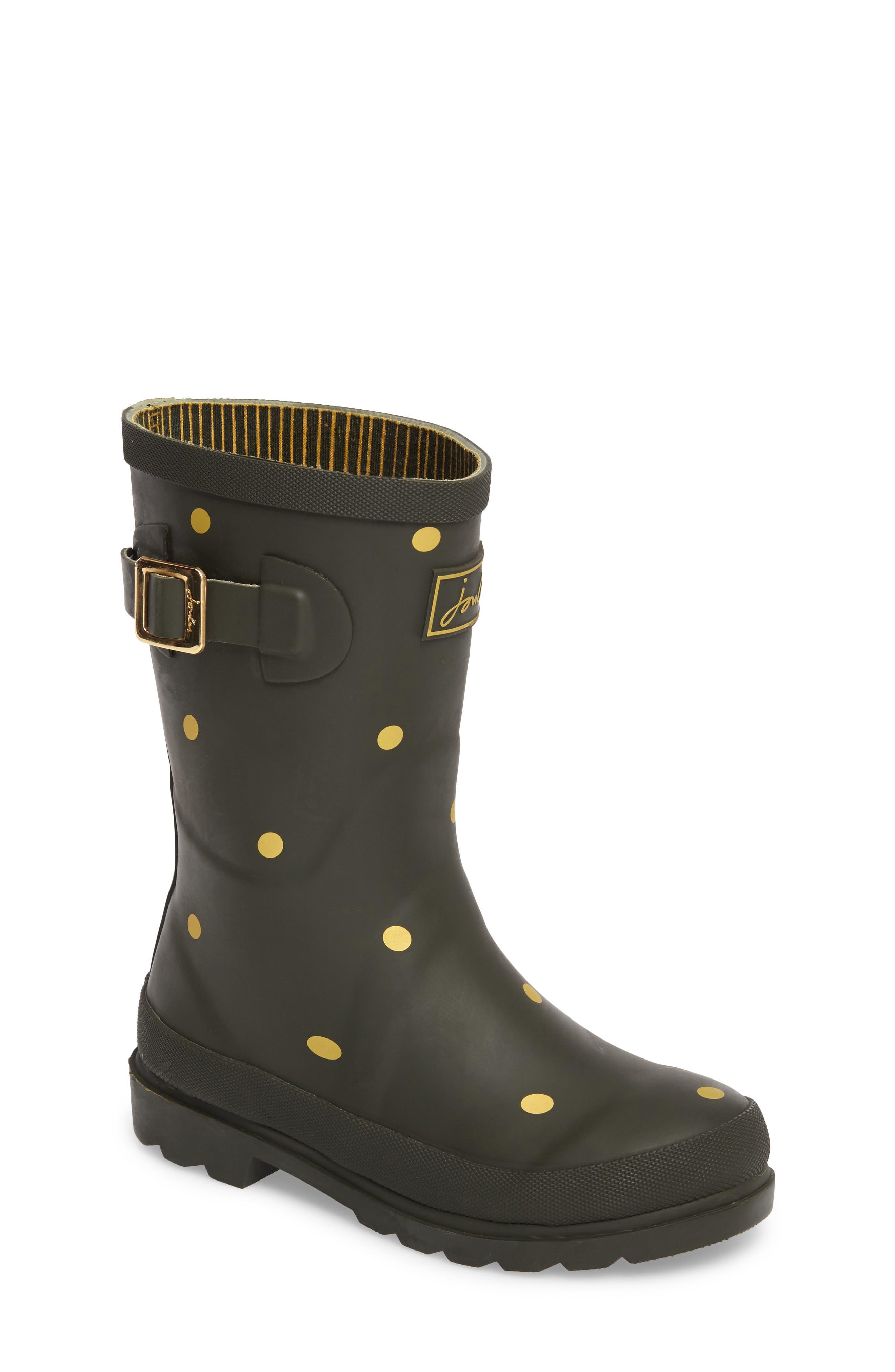 JOULES,                             Welly Printed Waterproof Rain Boot,                             Main thumbnail 1, color,                             302